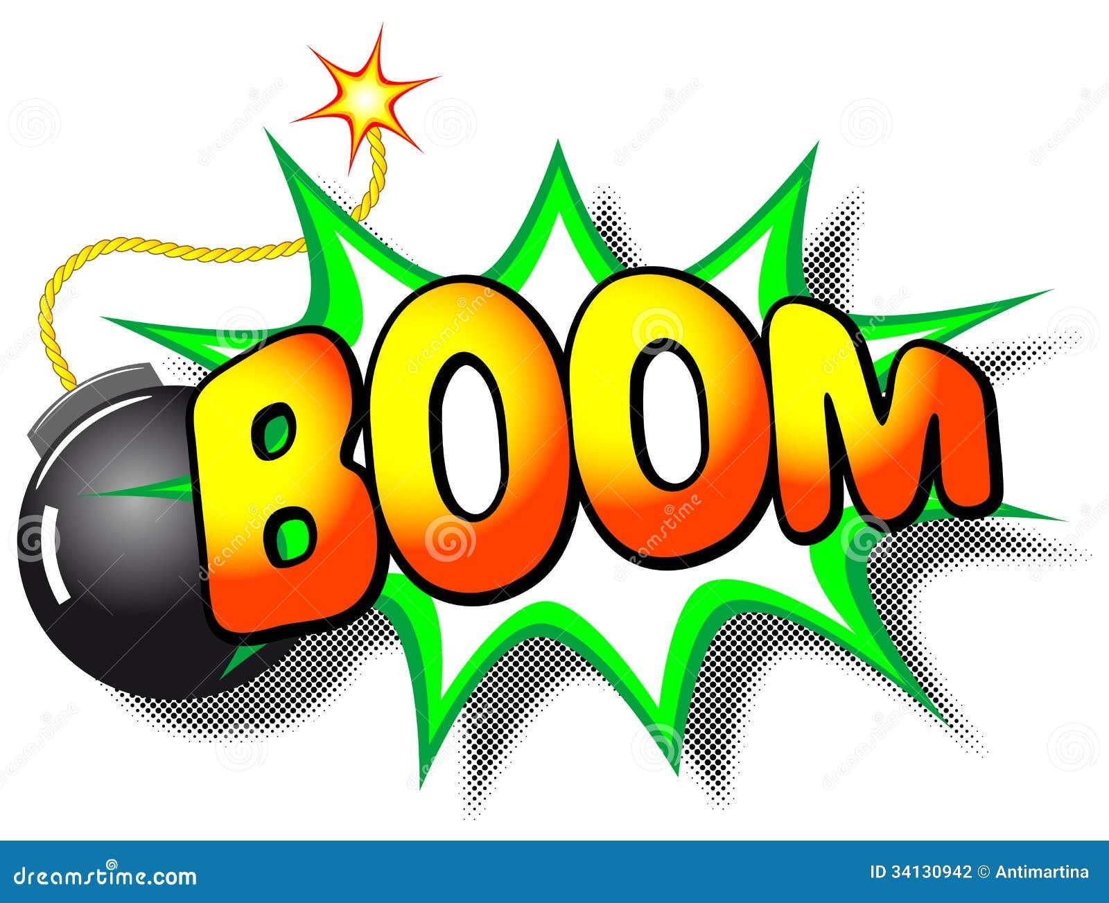 boom explosion stock vector illustration of burst  word clip art bobble head clip art bamboo