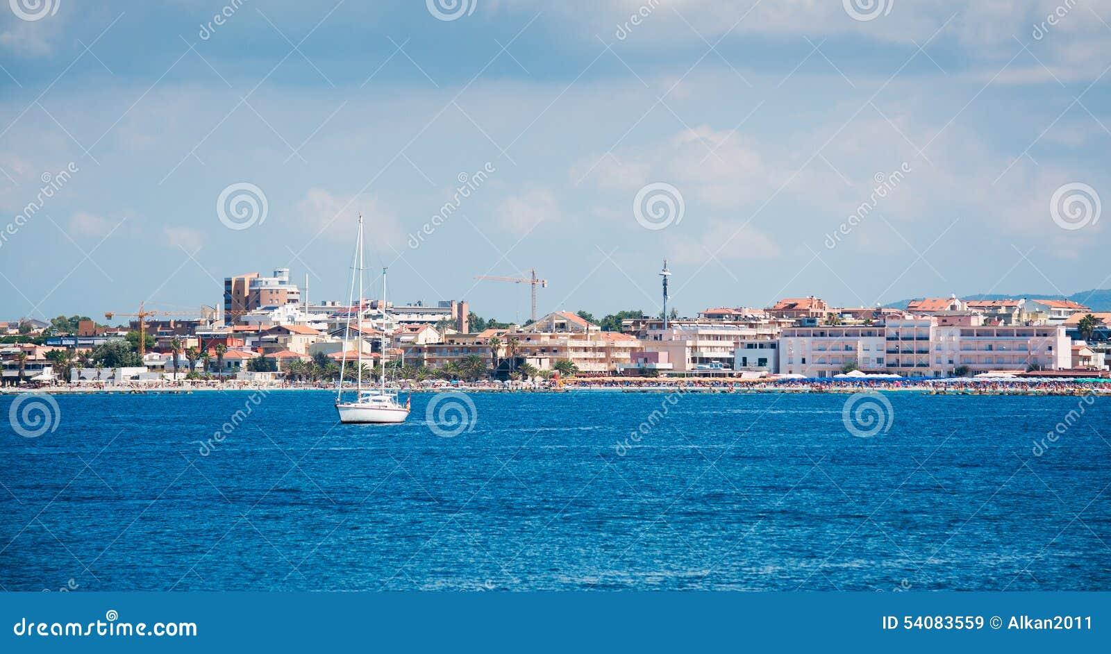 Boot in Alghero-overzees
