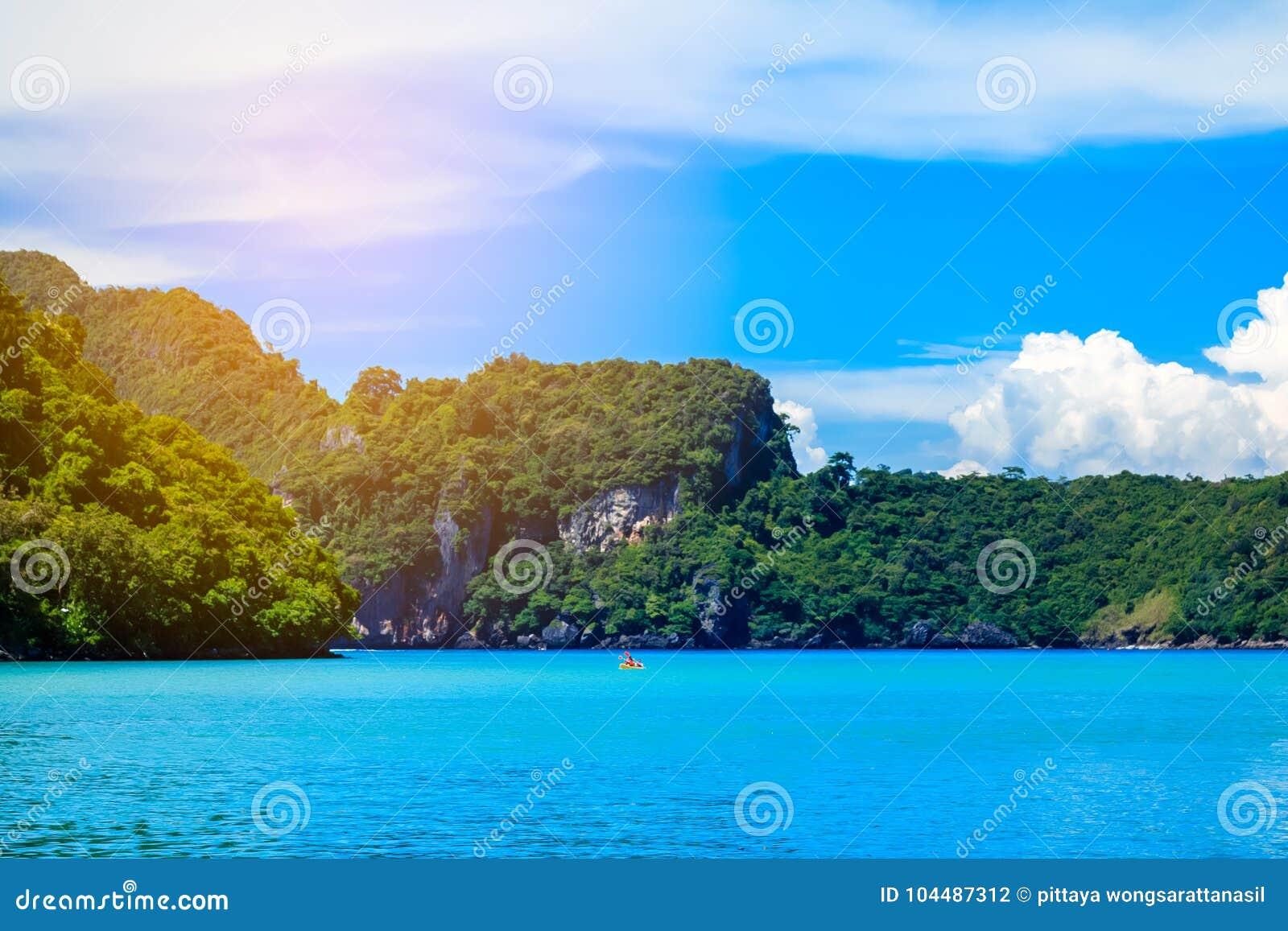 Boot in andaman Meer Phi Phi Islands Krabi Thailand