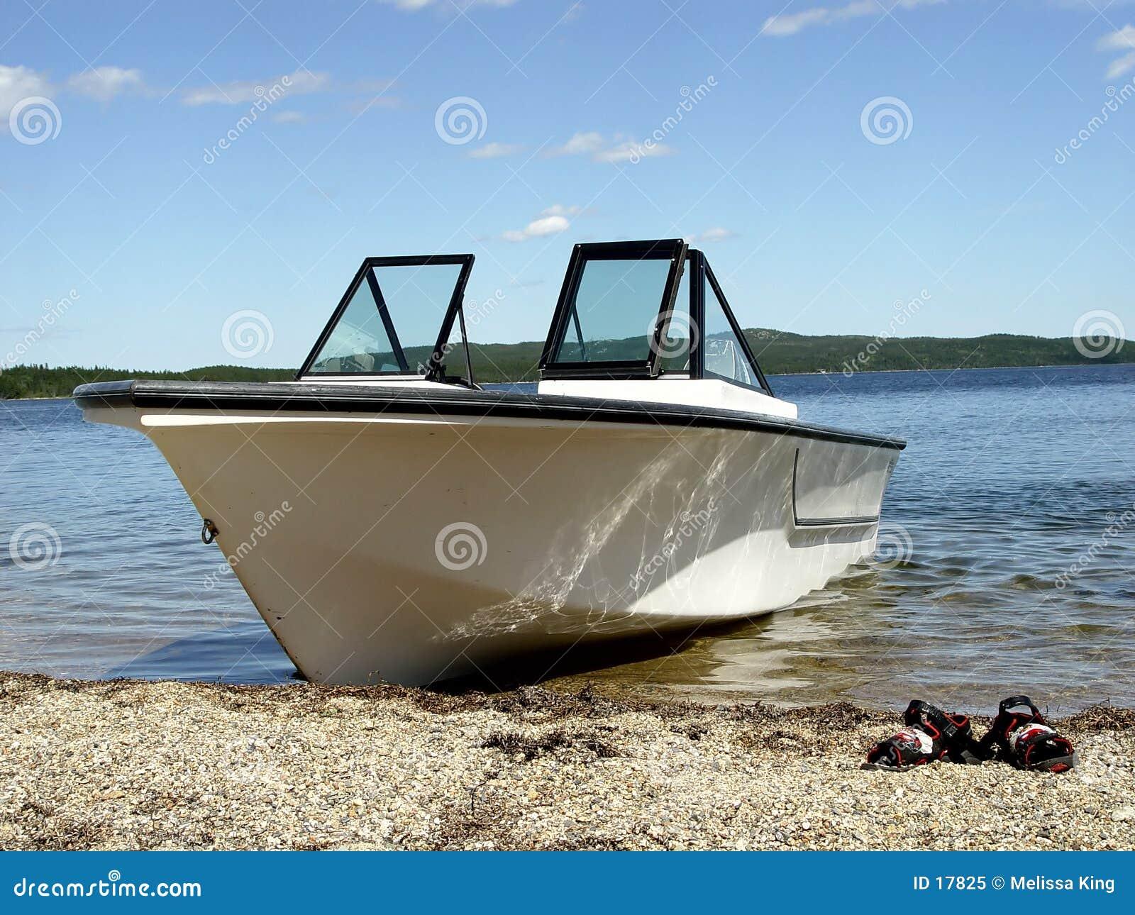 Boot auf dem Strand