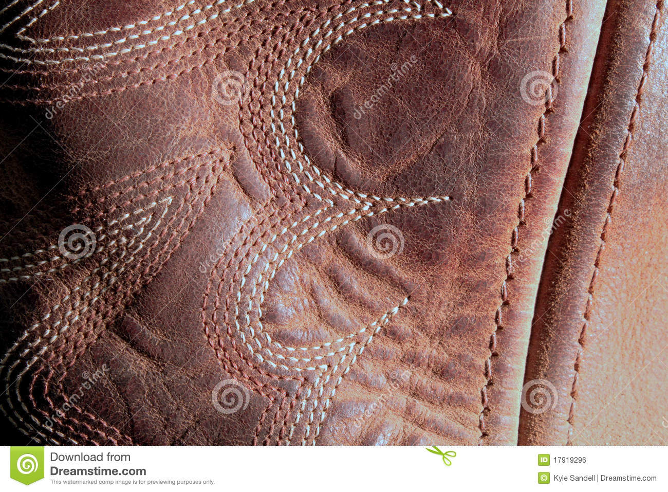 Boot Leather Closer Stock Photo Image Of Pattern Dirt
