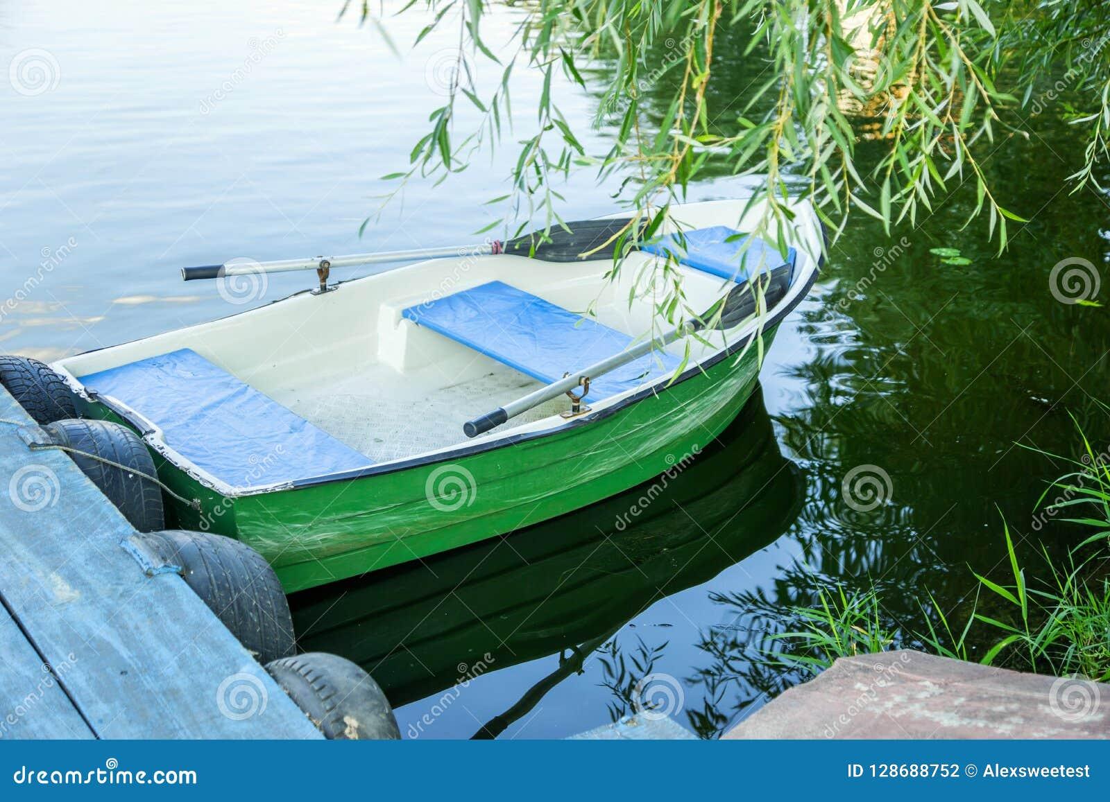 Boot mit Rudern