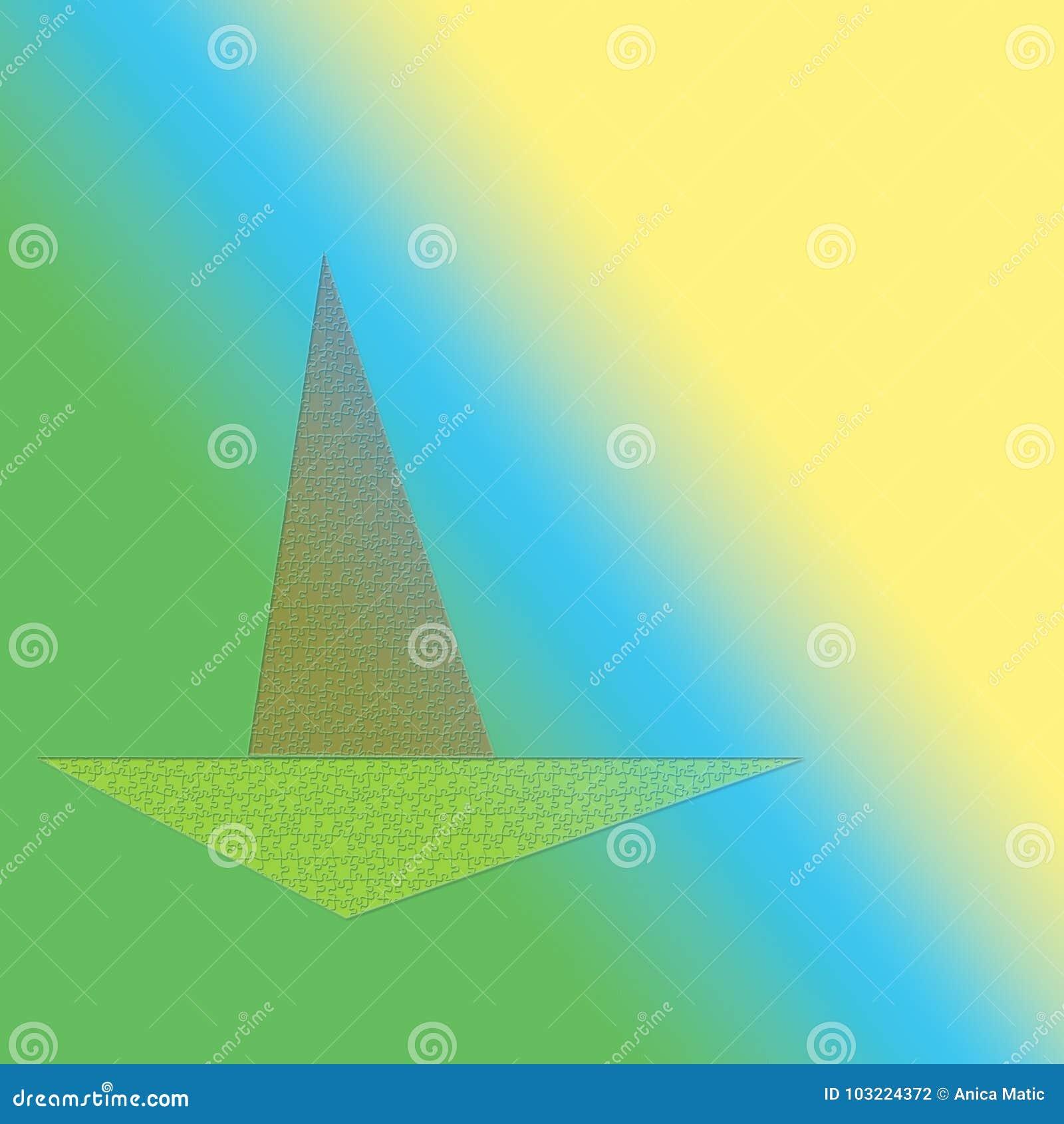 Boot op het zonnige overzees