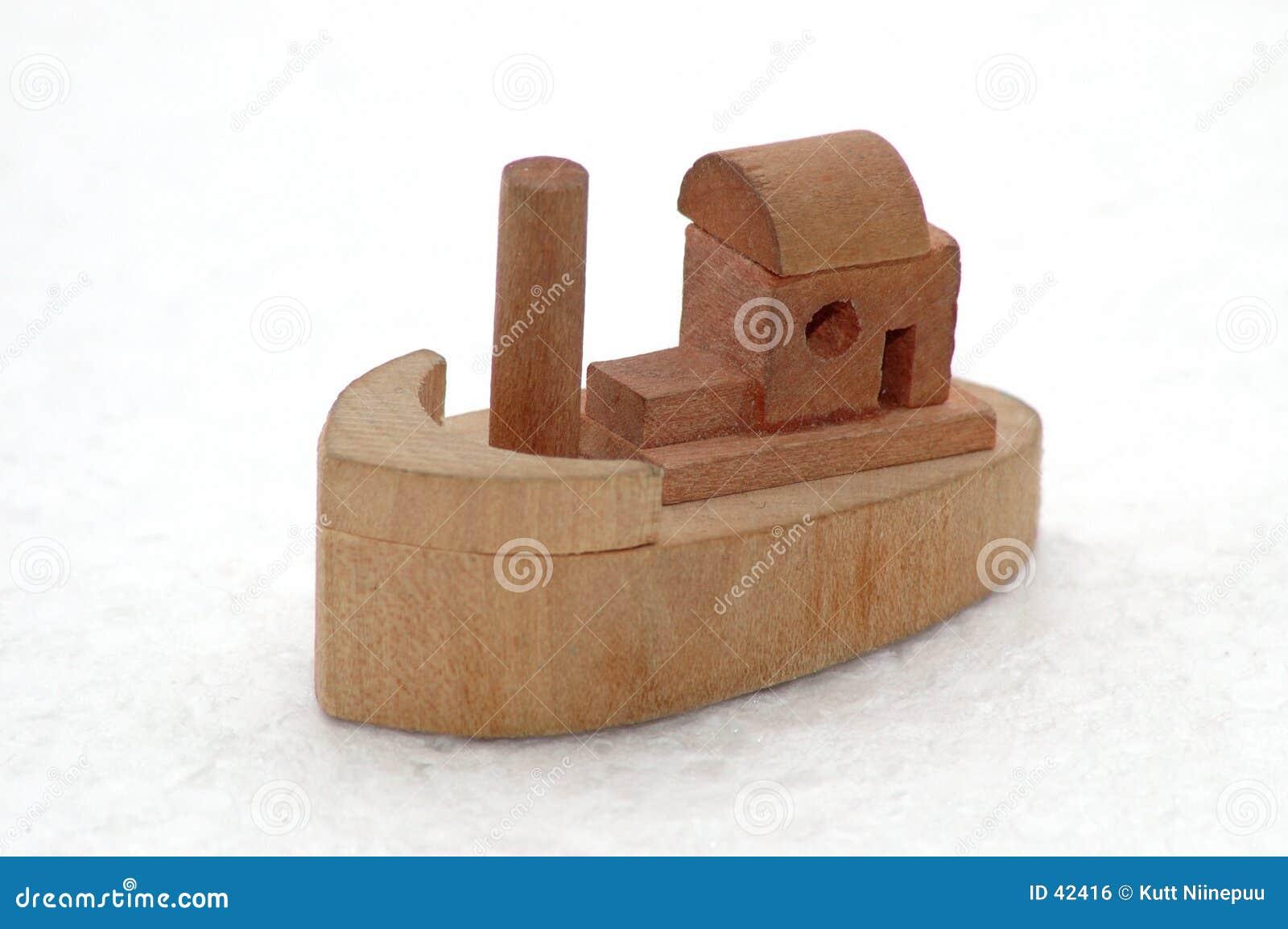Boot op ijs