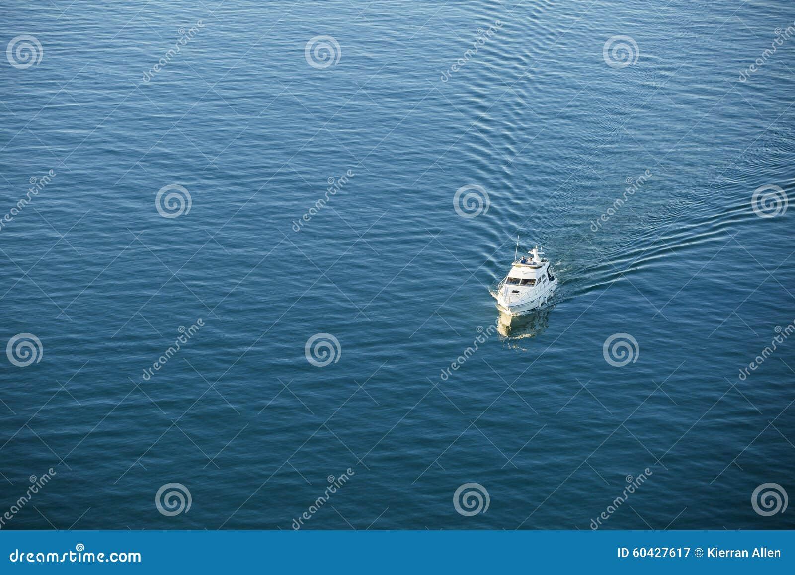 Boot op oceaanantenne