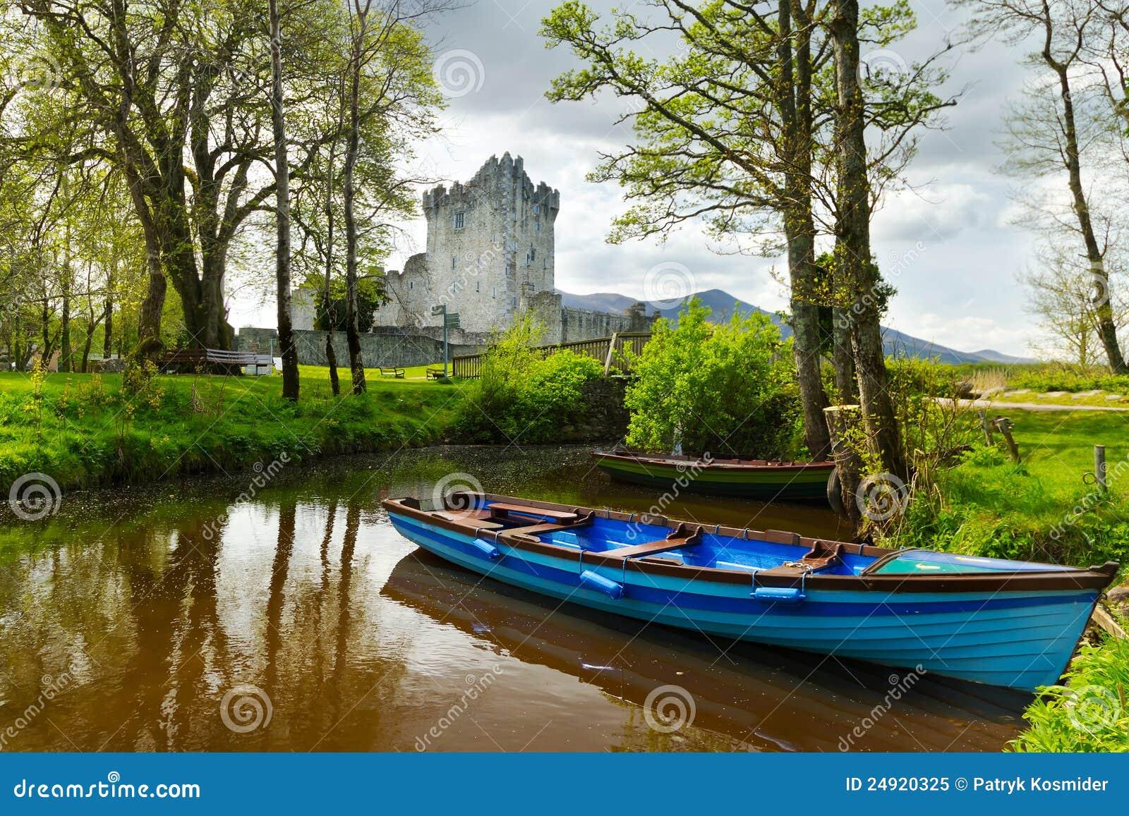Boot in Ross Castle in Co. Kerry