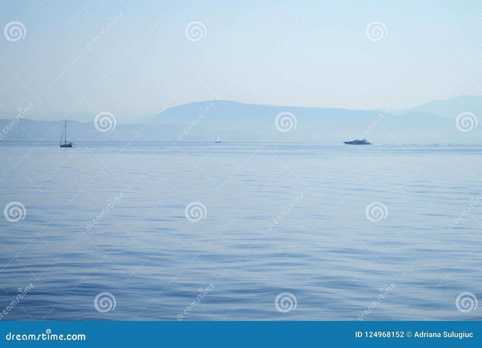 Boote auf dem Meer