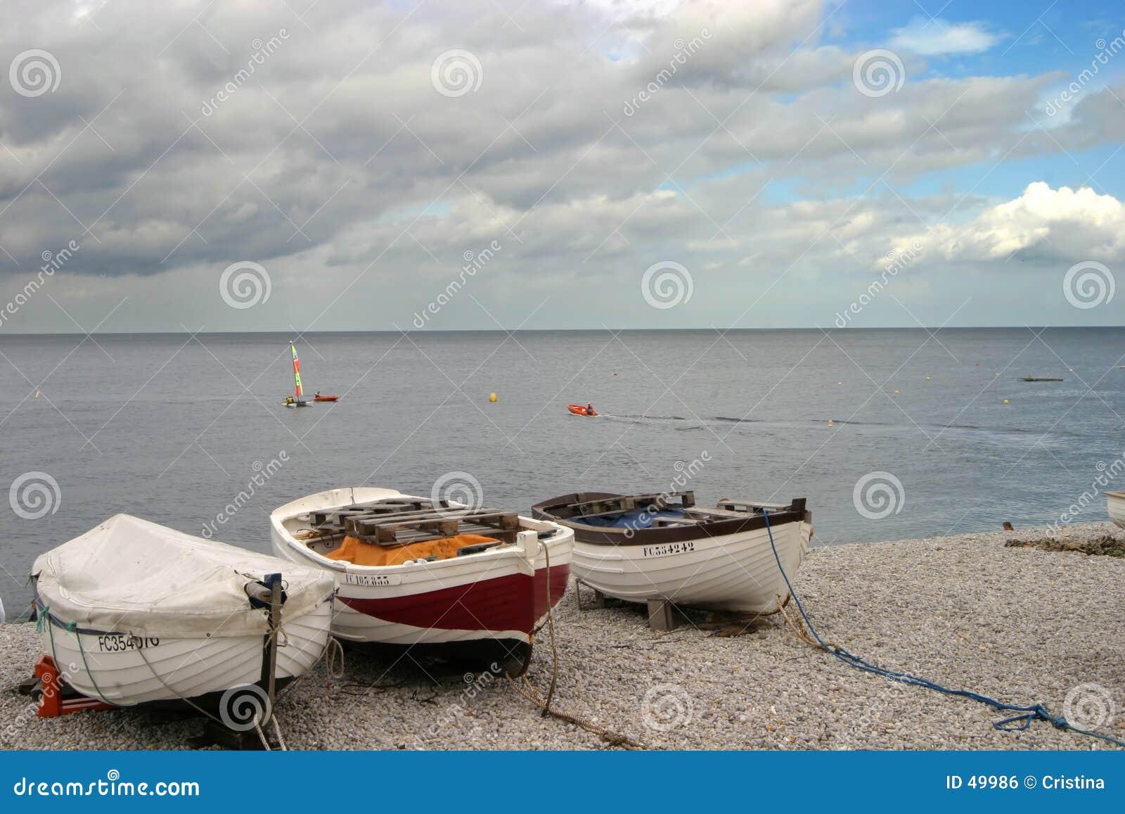 Boote auf dem Strand