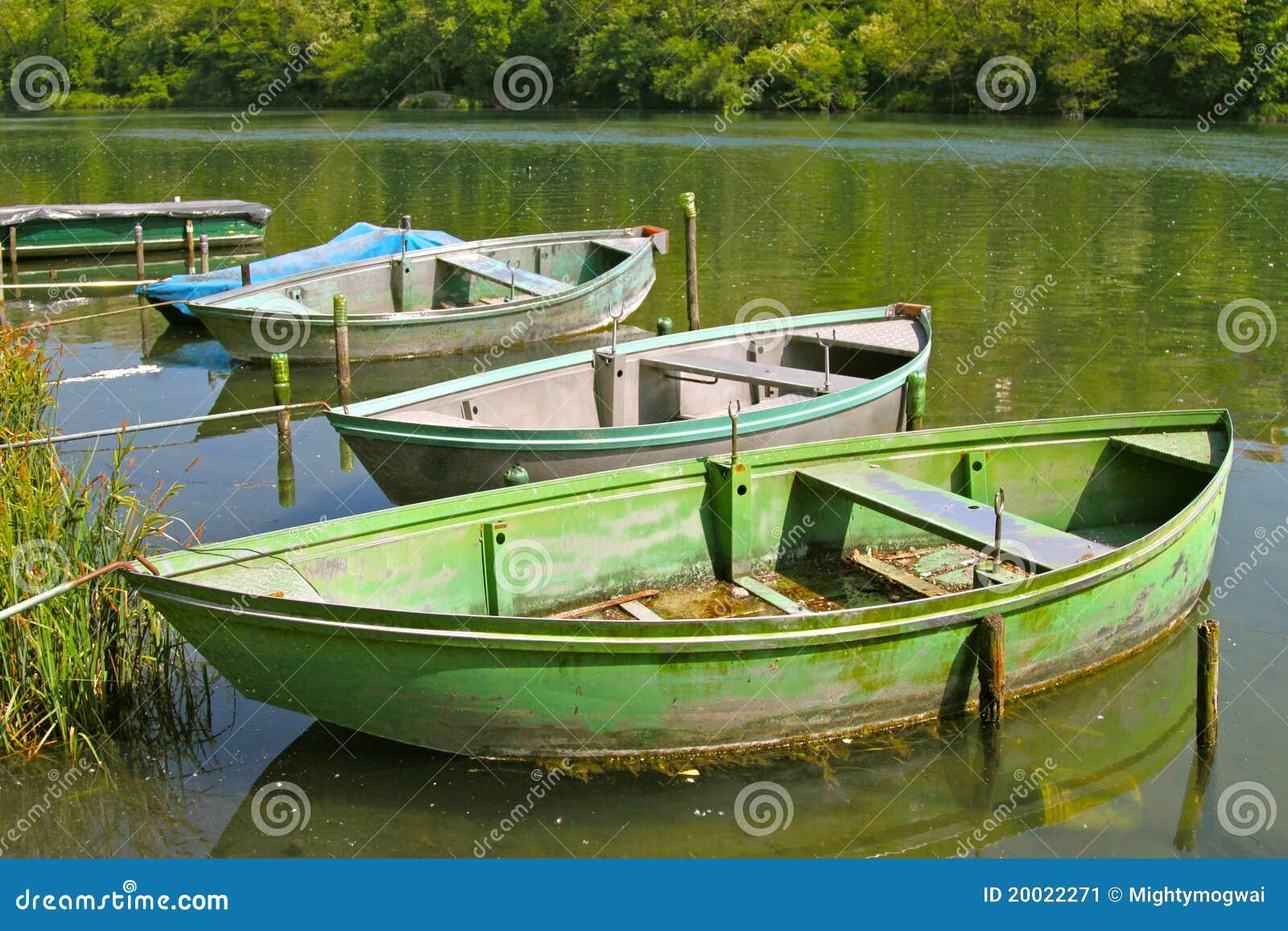 Boote im ruhigen Wasser