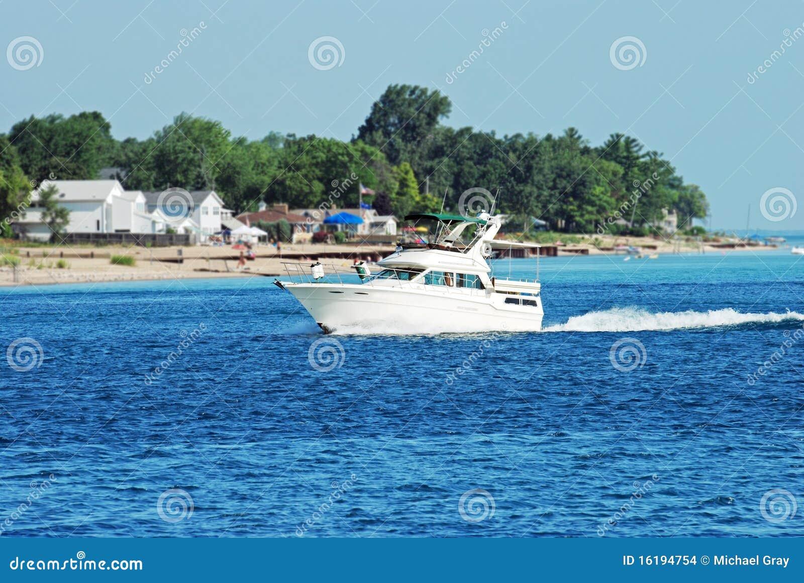 Bootfahrt durch den Strand