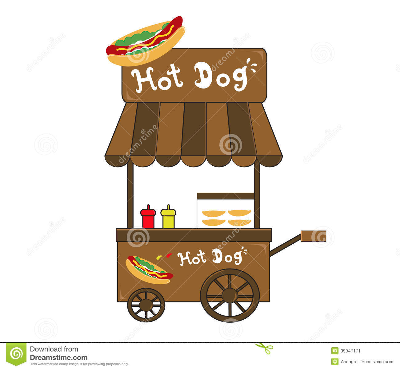 Hot Dog Vendor Muhammad