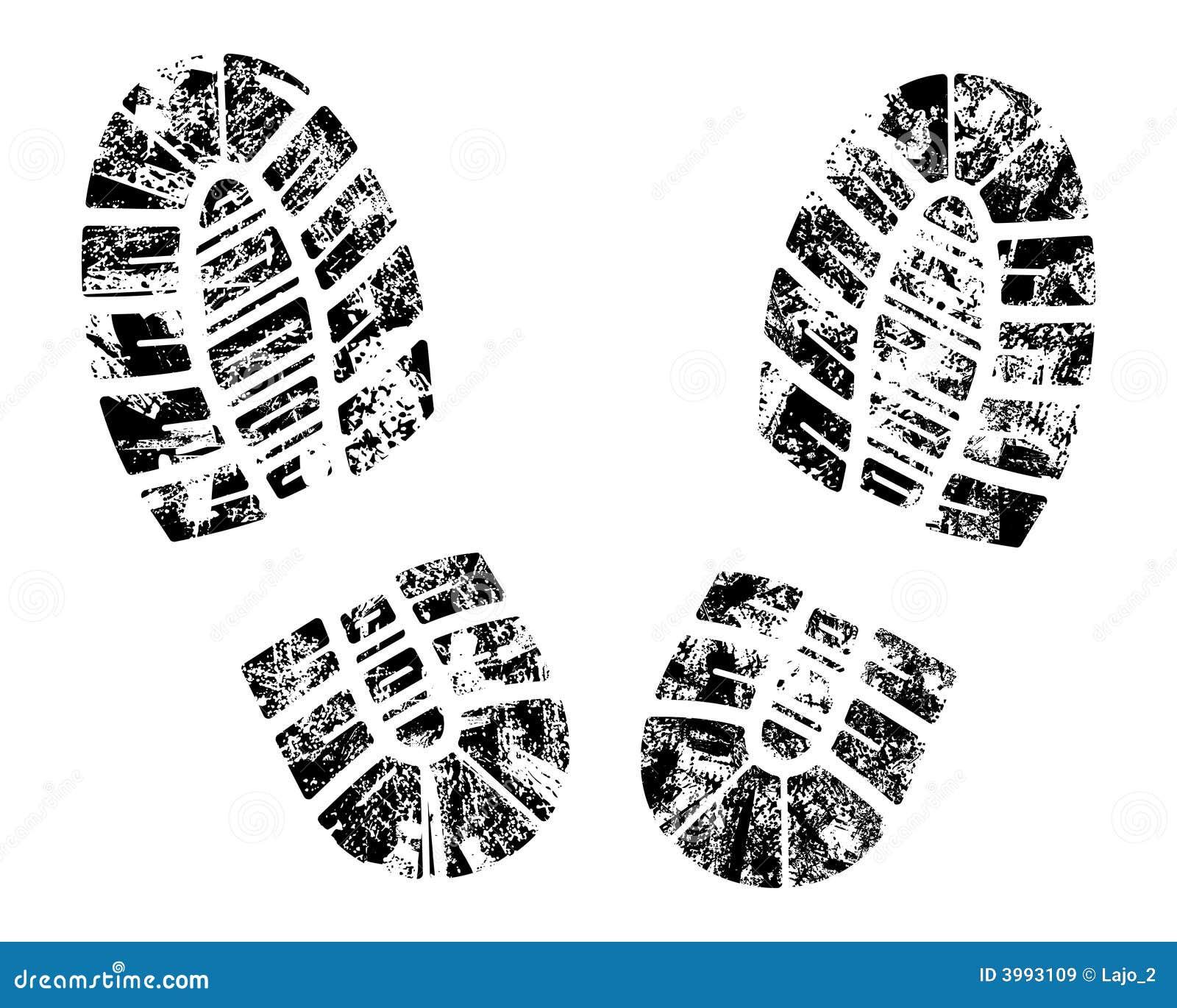 Bootprint do vetor