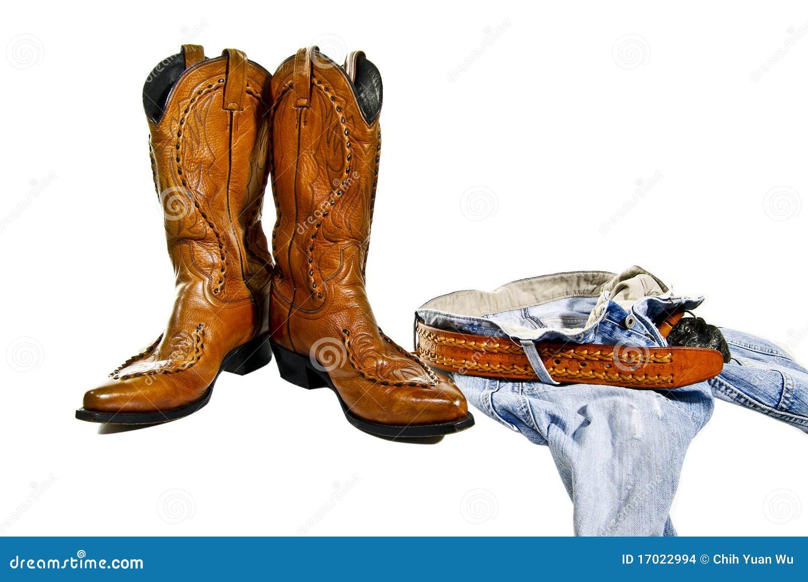 Boots jeans cowboy