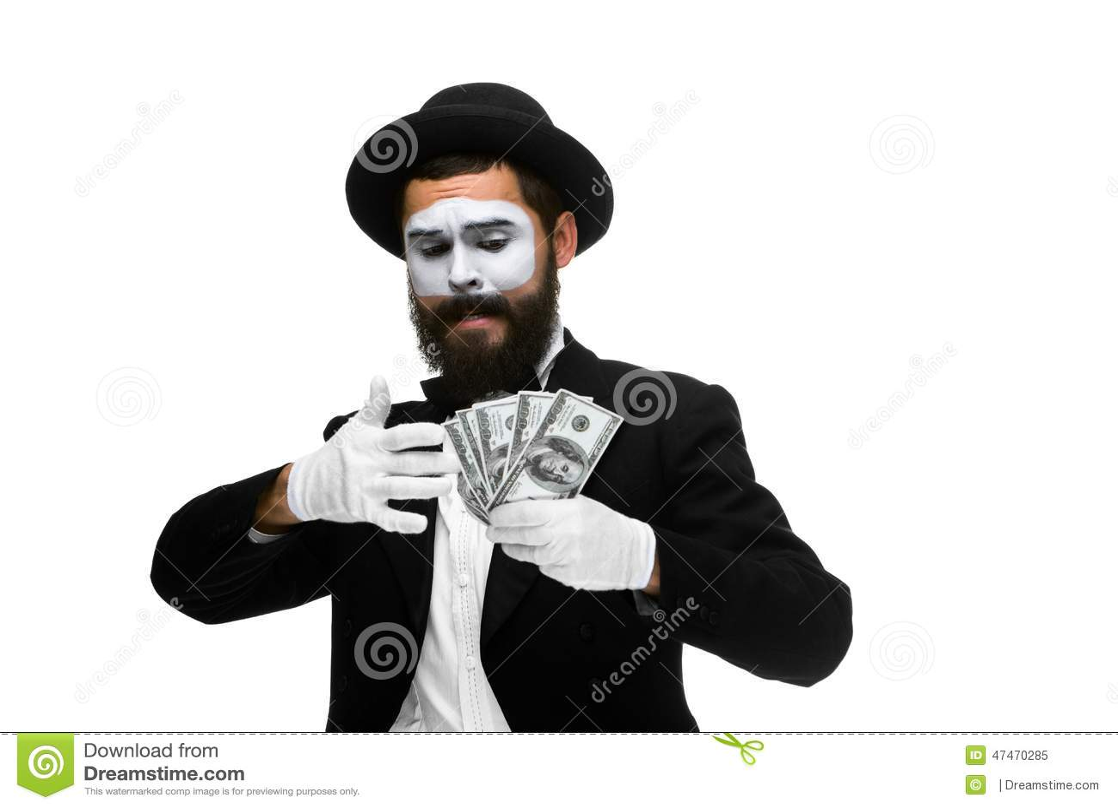 Boots na als geld van de zakenmanholding