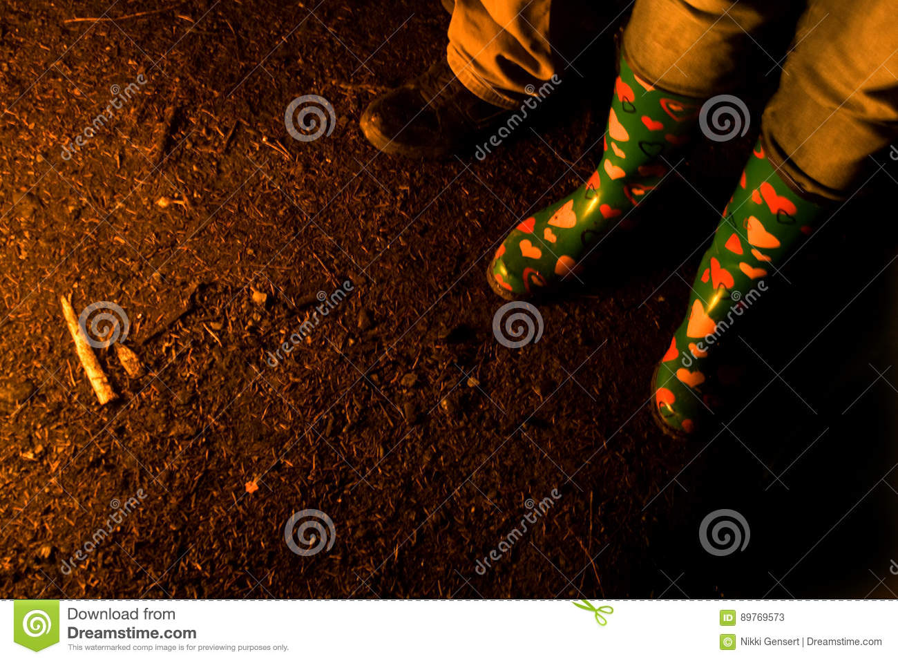 5fdb18ec1d2 Boots Of People Around Bonfire Stock Image - Image of night, fire ...
