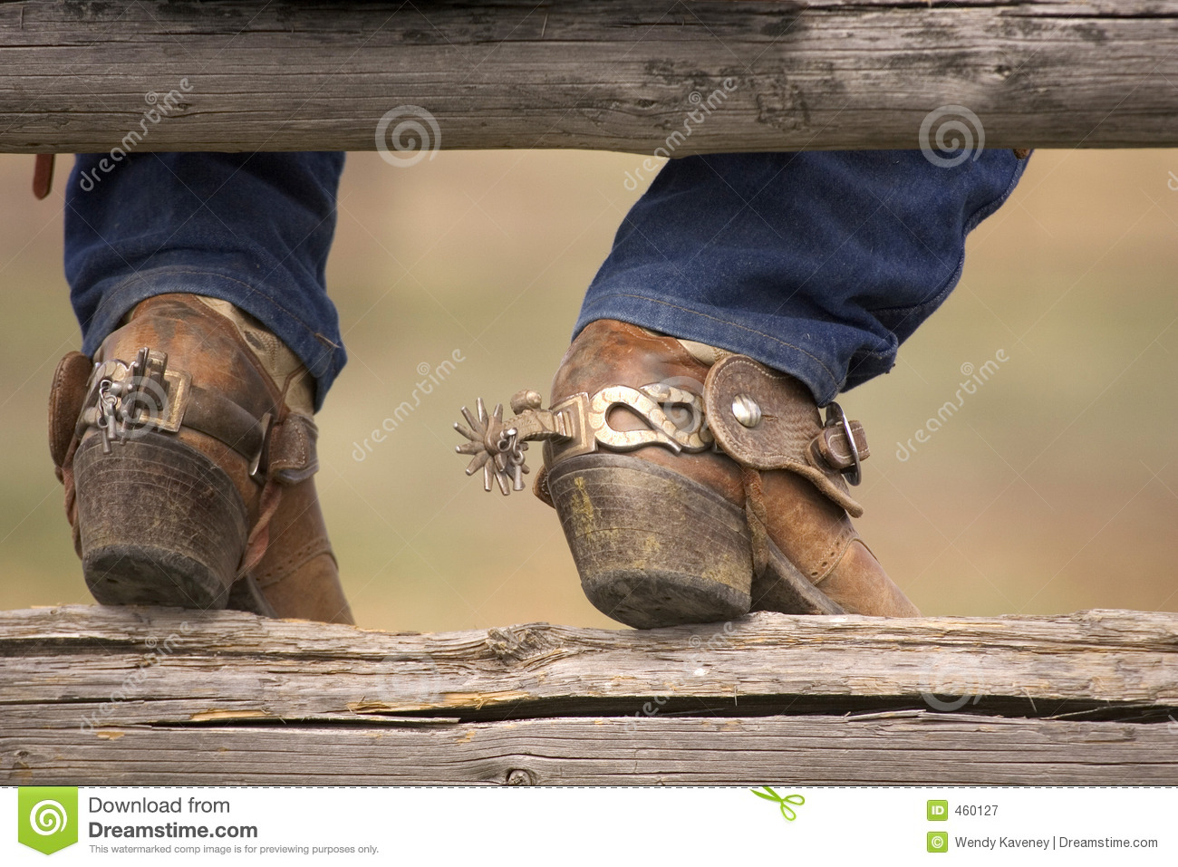 Boots And Spurs Royalty Free Stock Photography Image 460127
