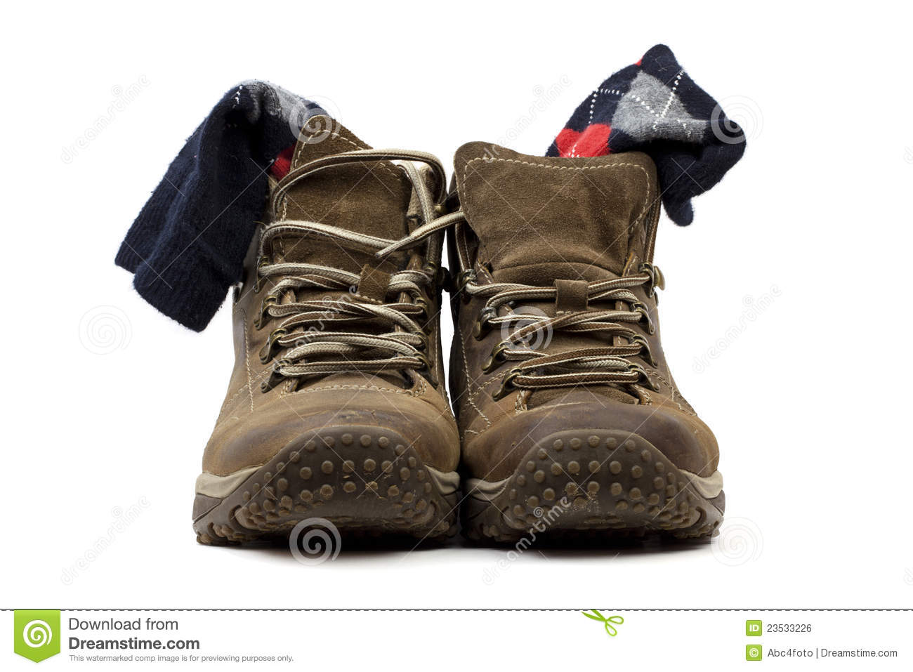Boots after walking