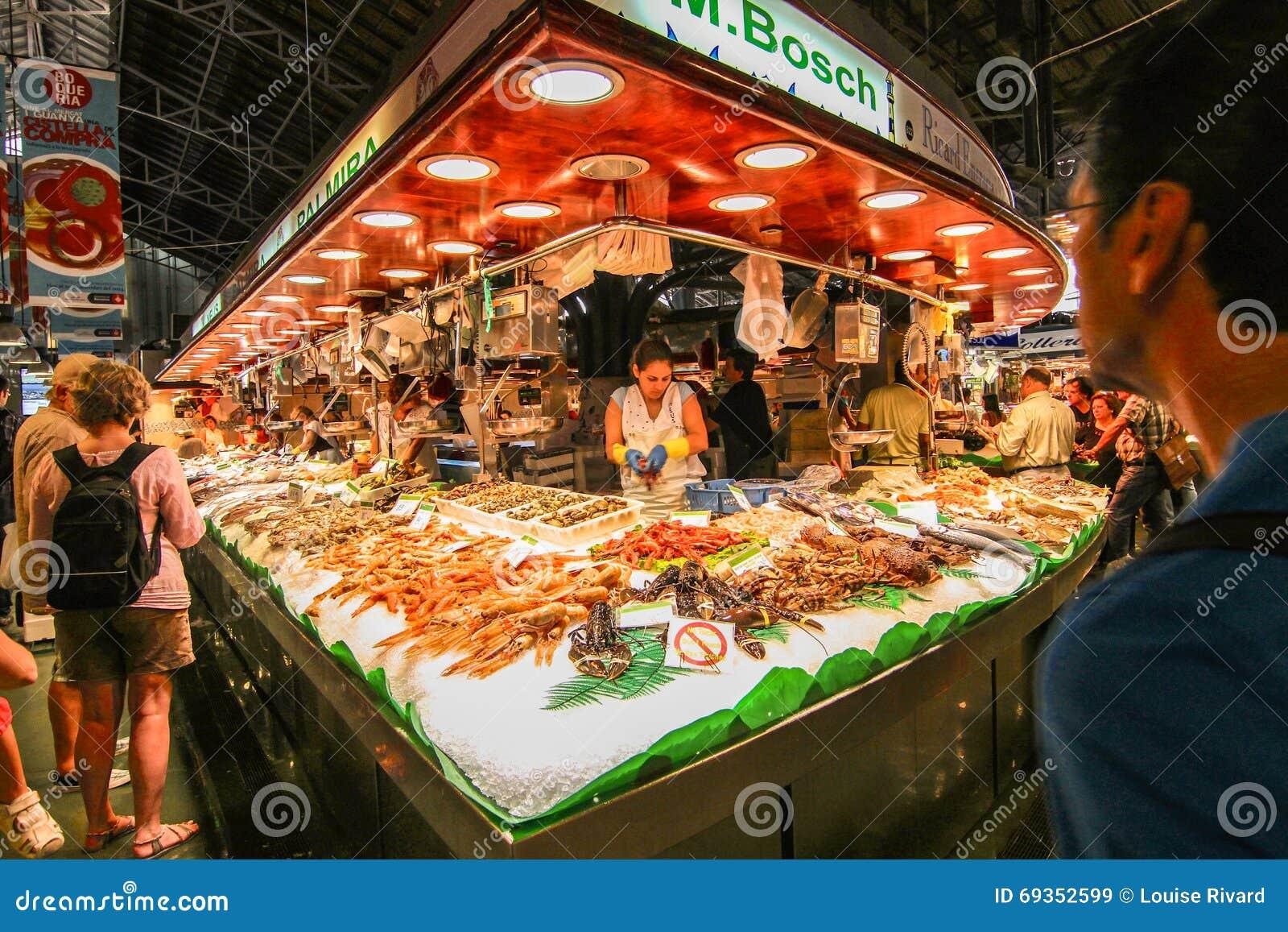 Boqueria market products