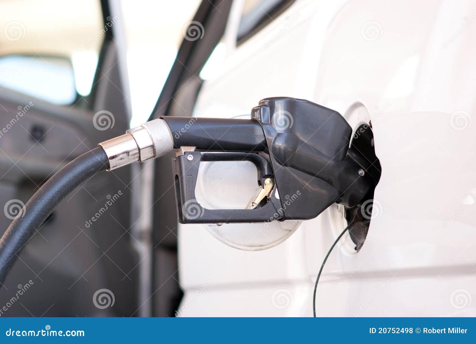 Boquilla del surtidor de gasolina