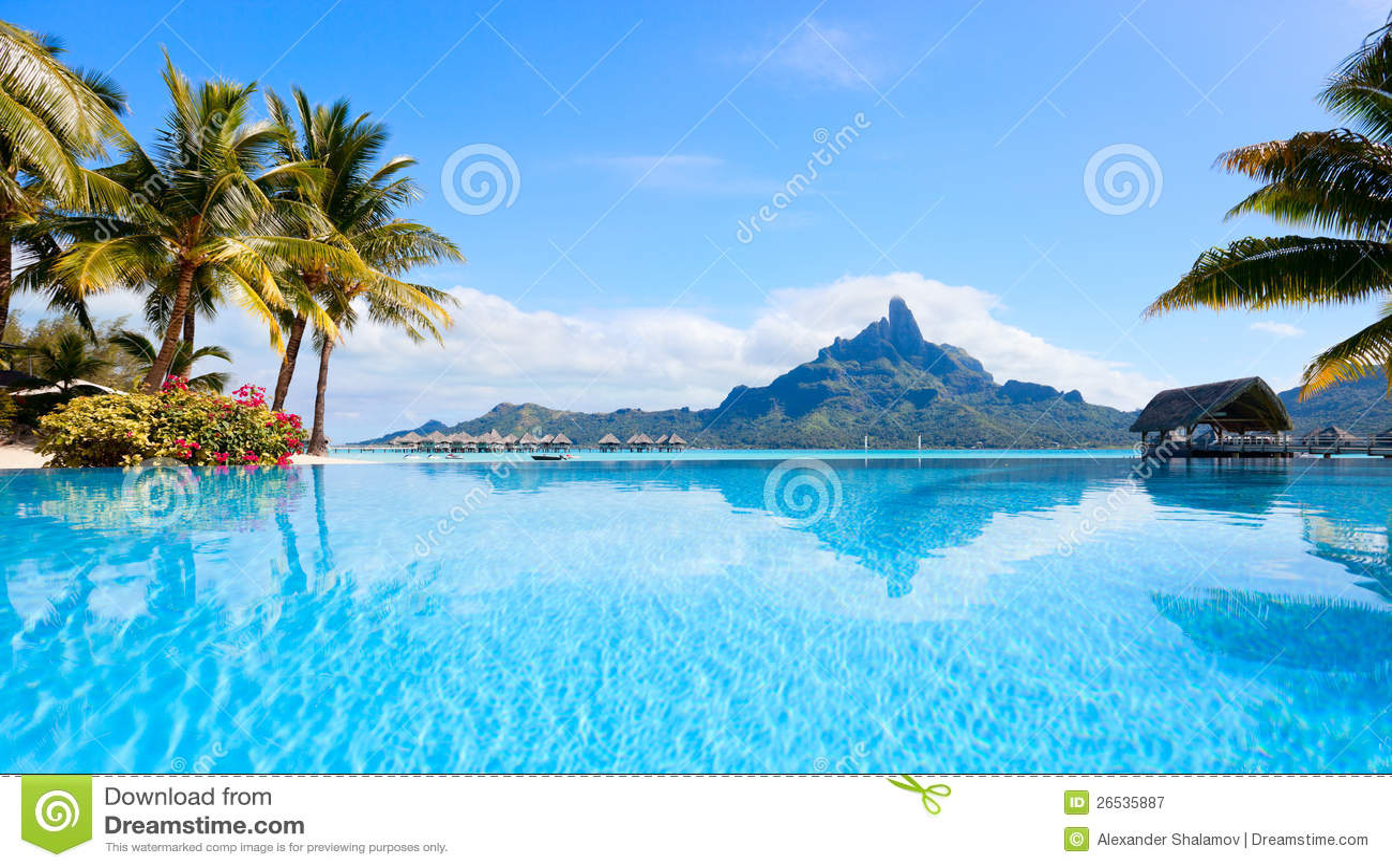 Bora Bora横向