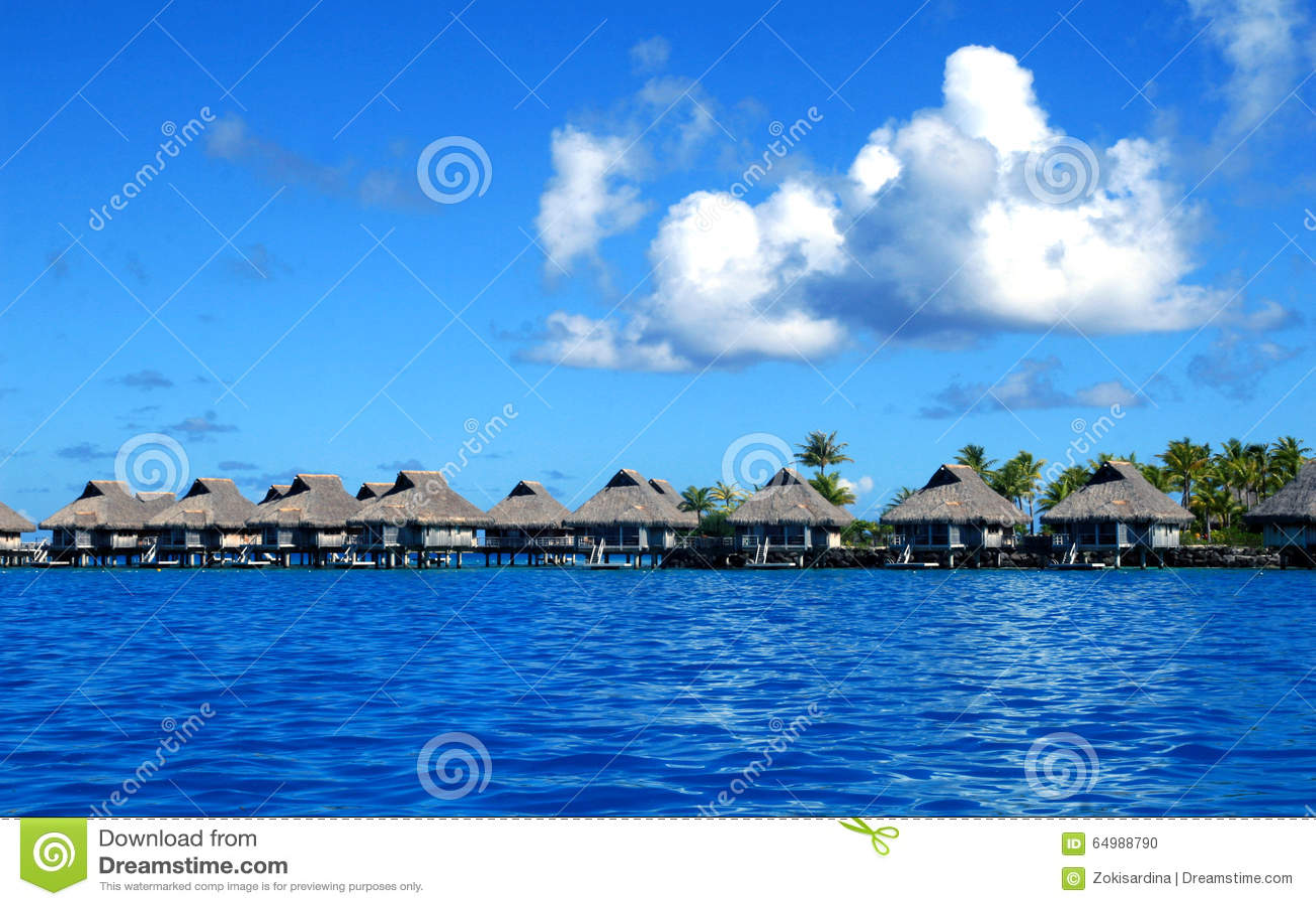 Bora Bora luxury beach resort