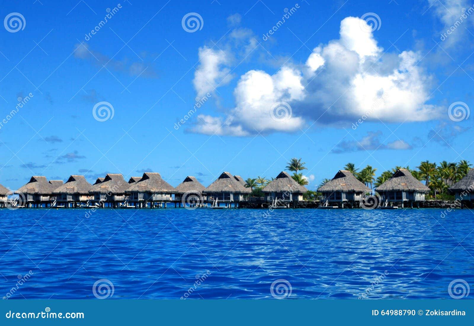 Bora Bora-Luxusstrandurlaubsort