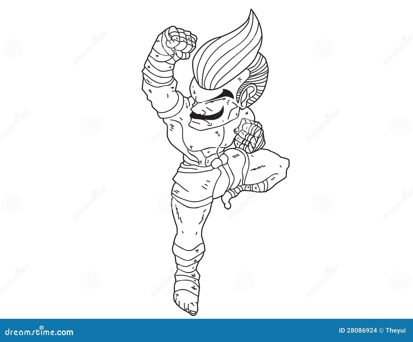泰拳boran : 字符动画片10