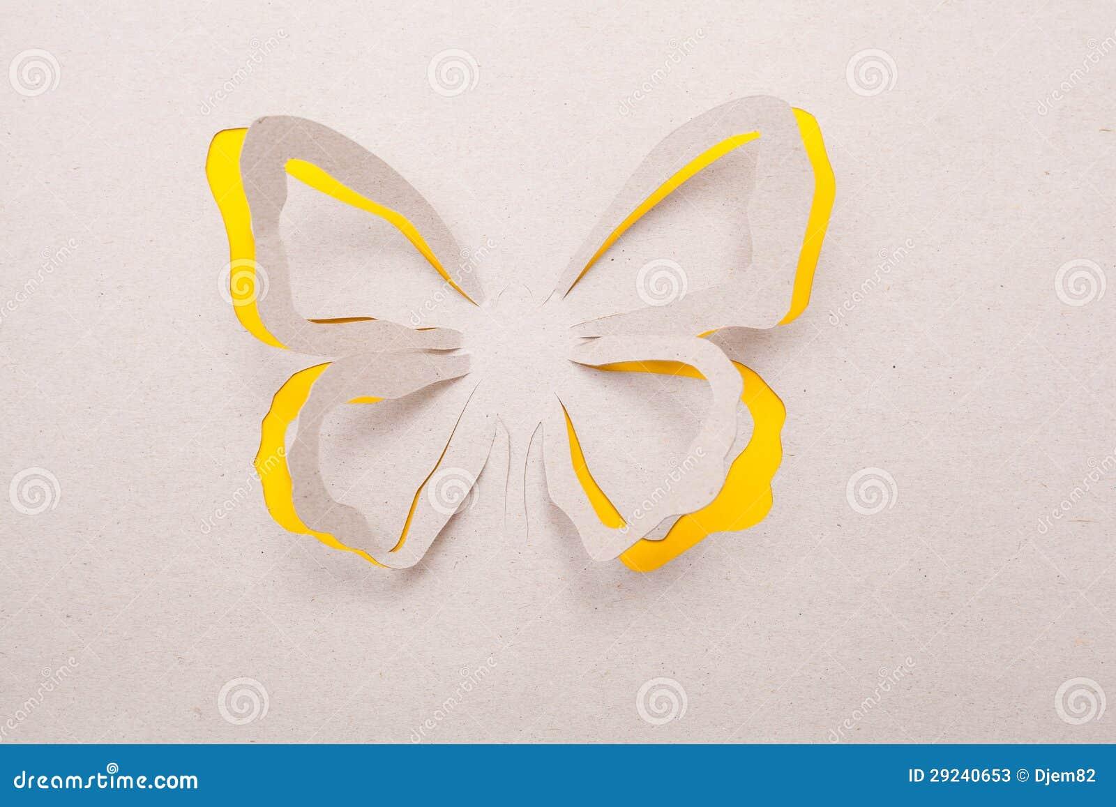 Download Borboleta de Origami imagem de stock. Imagem de verde - 29240653