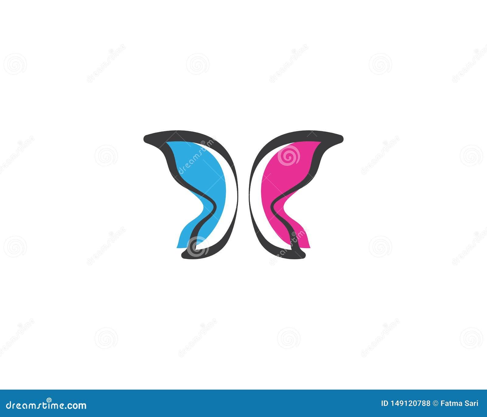 Borboleta Logo Template