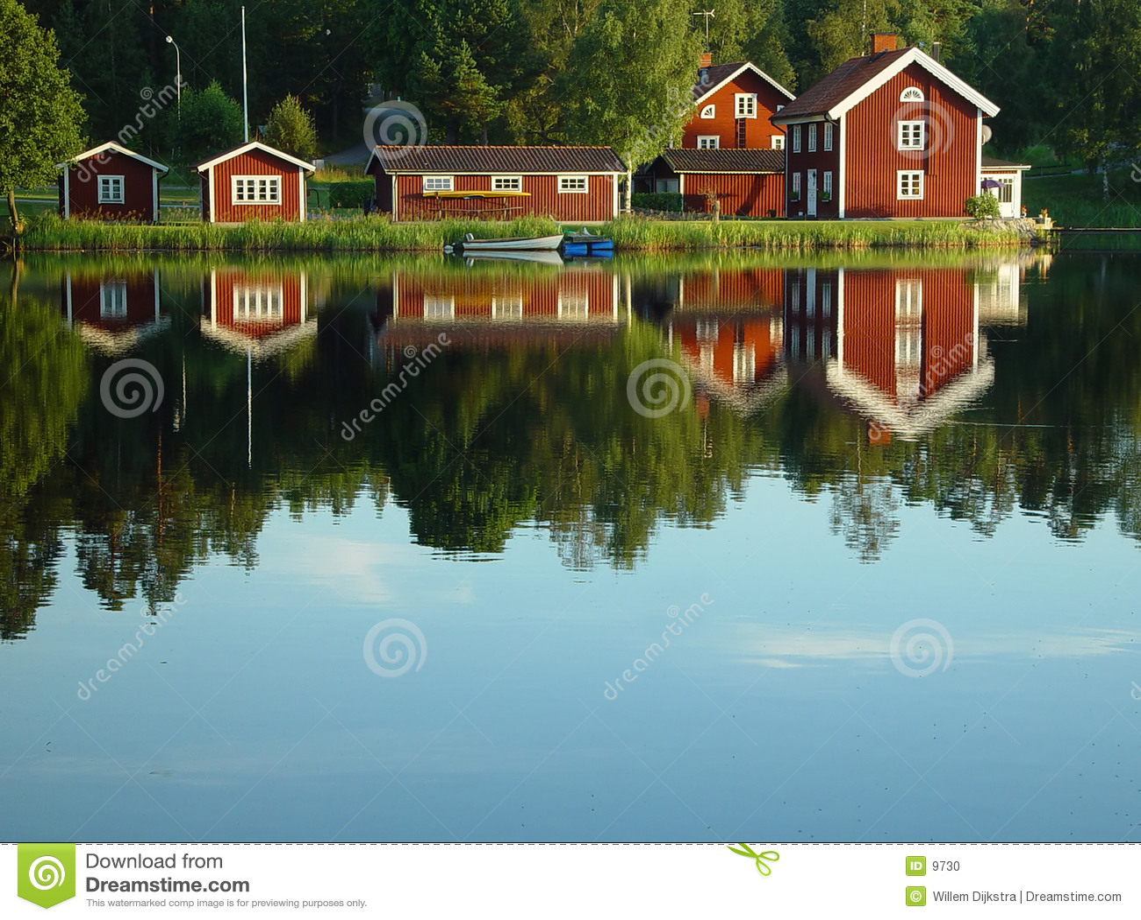 Bord de lac suédois