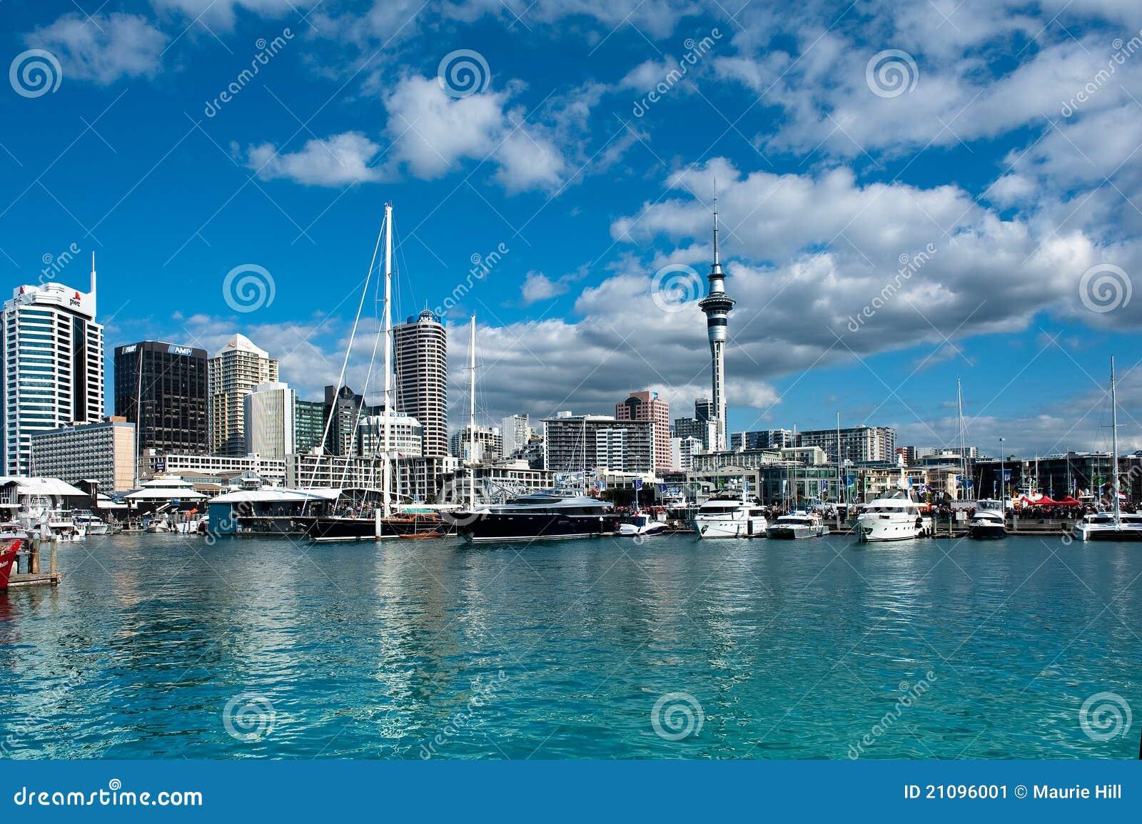 Bord de mer d Auckland