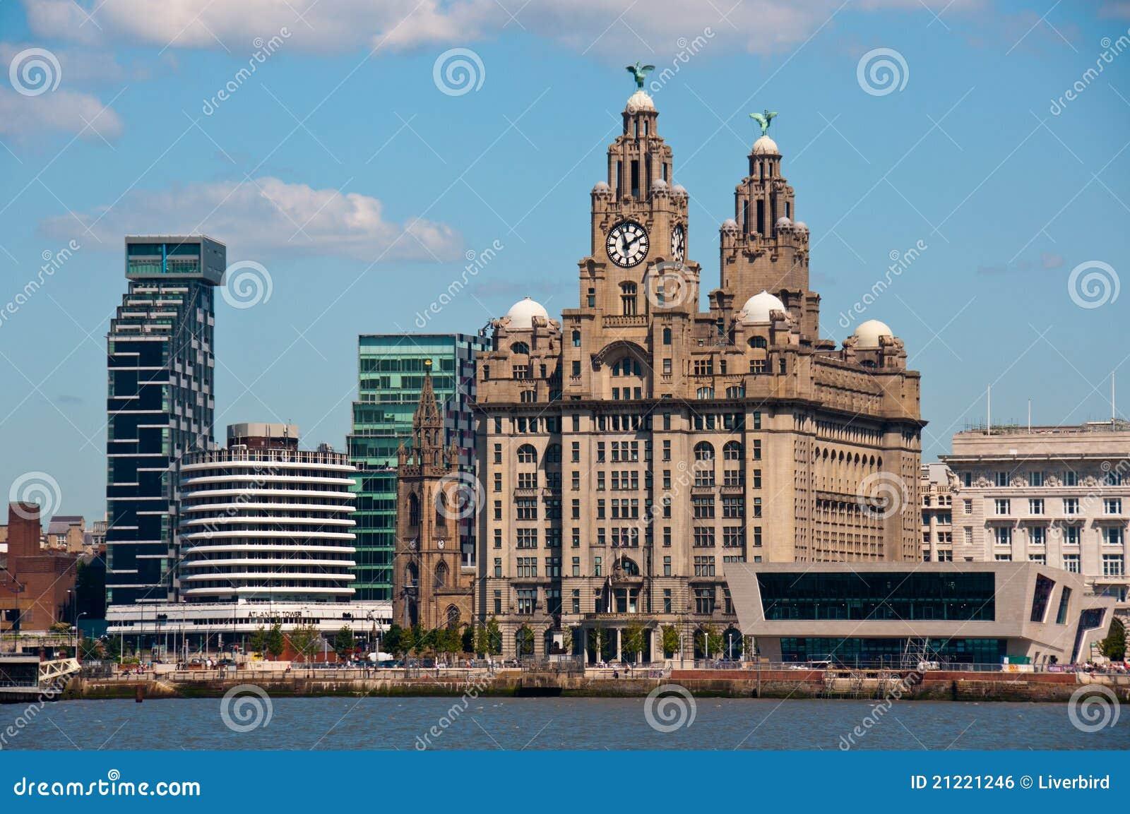 Bord de mer de Liverpool