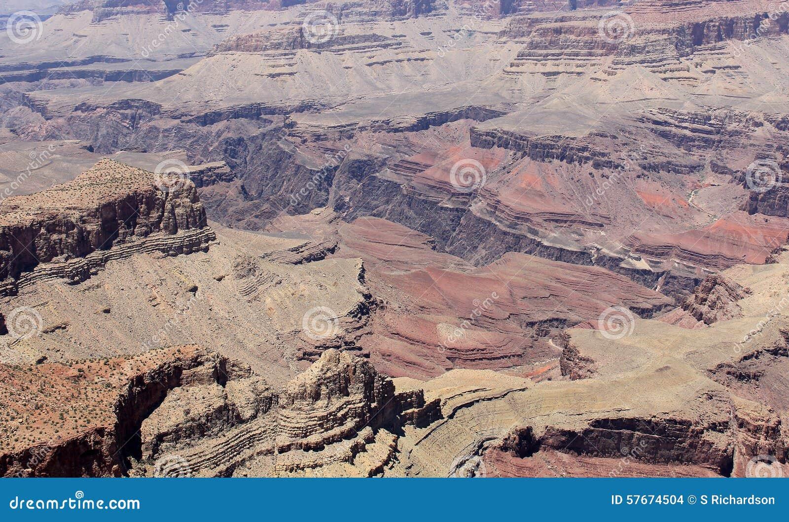 Borda sul do Grand Canyon