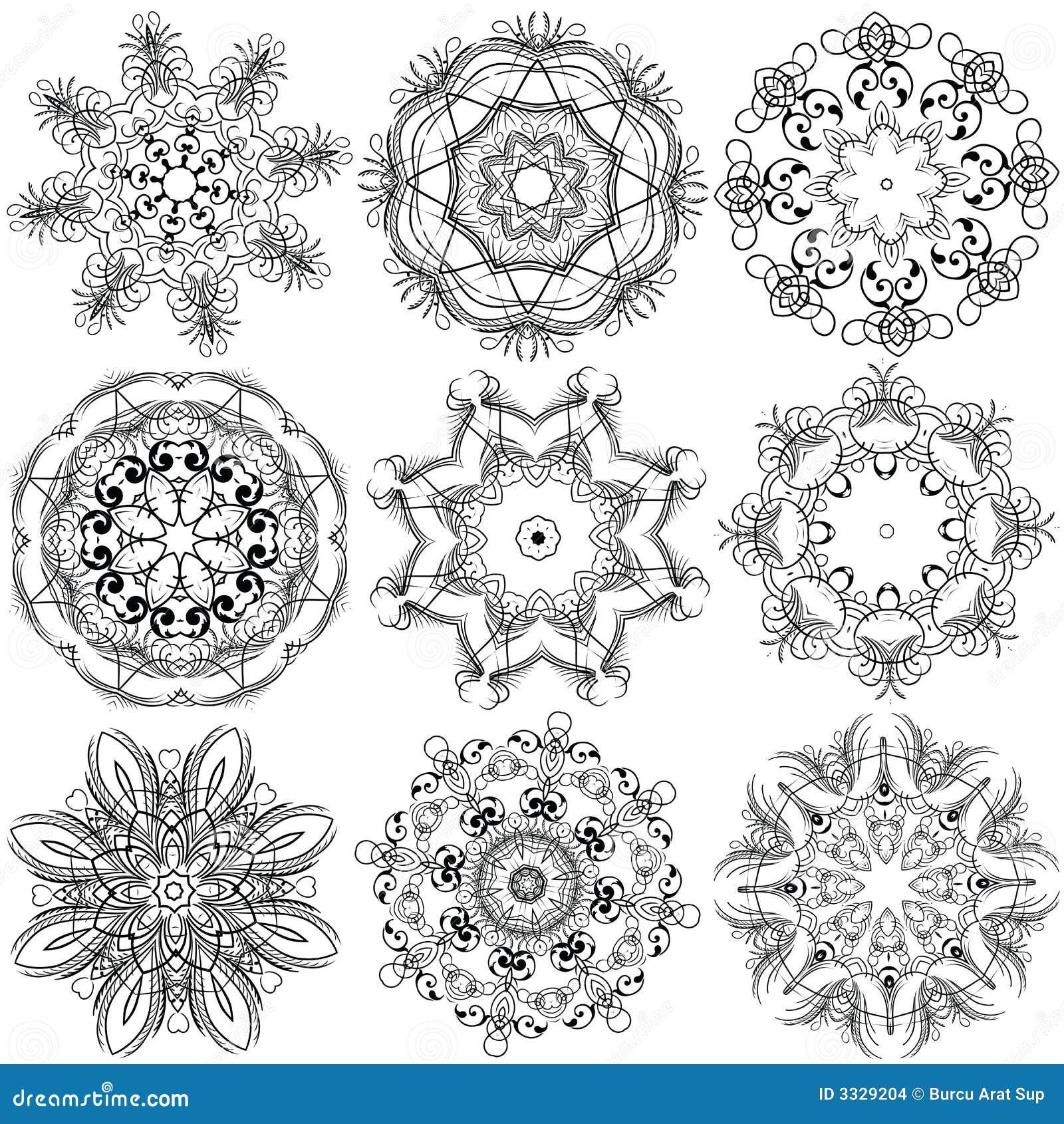 Bordado ilustración del vector. Ilustración de prospera - 3329204