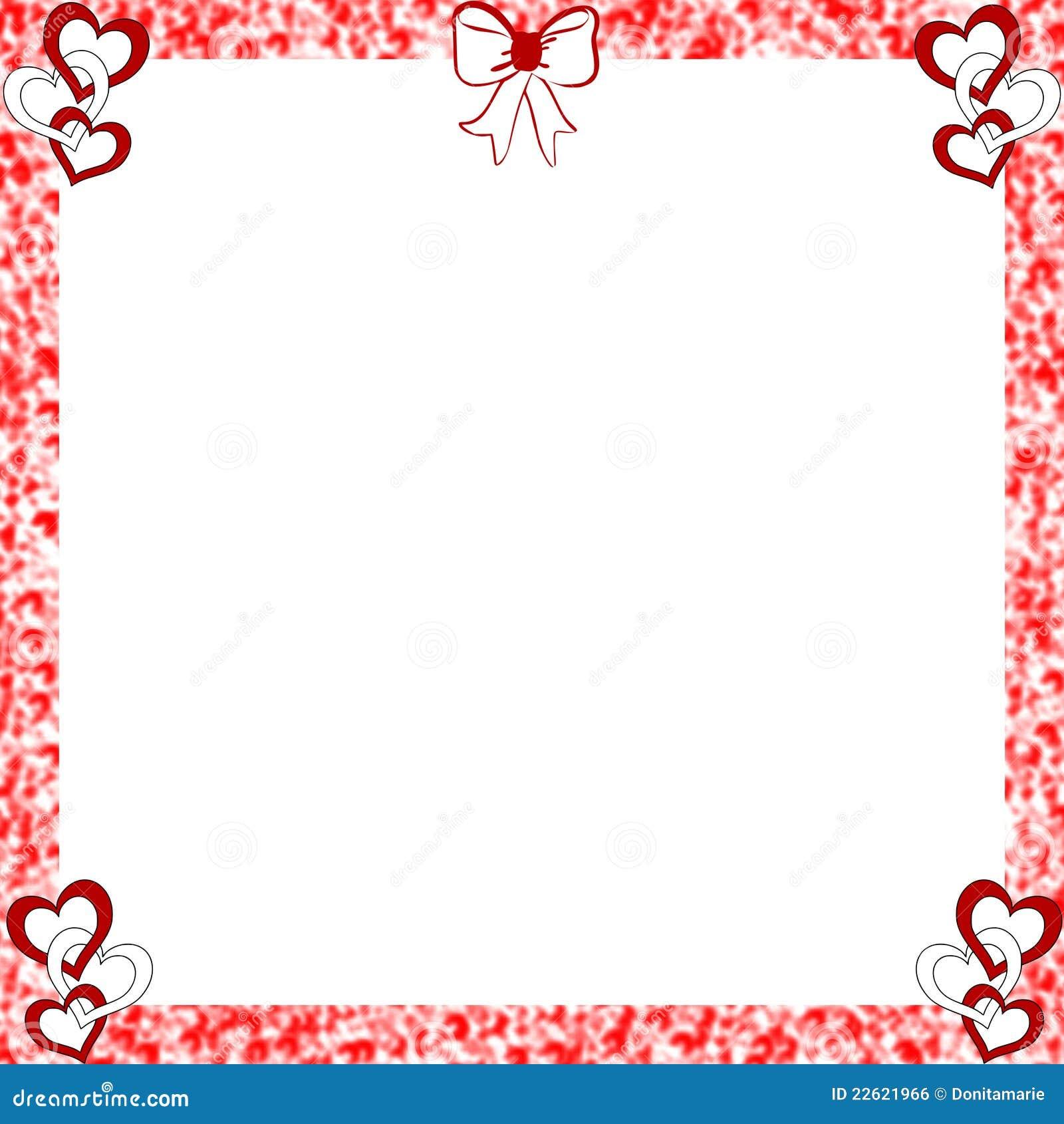 Imagem de Stock Royalty Free: Bordas afligidas quadro dos corações ...