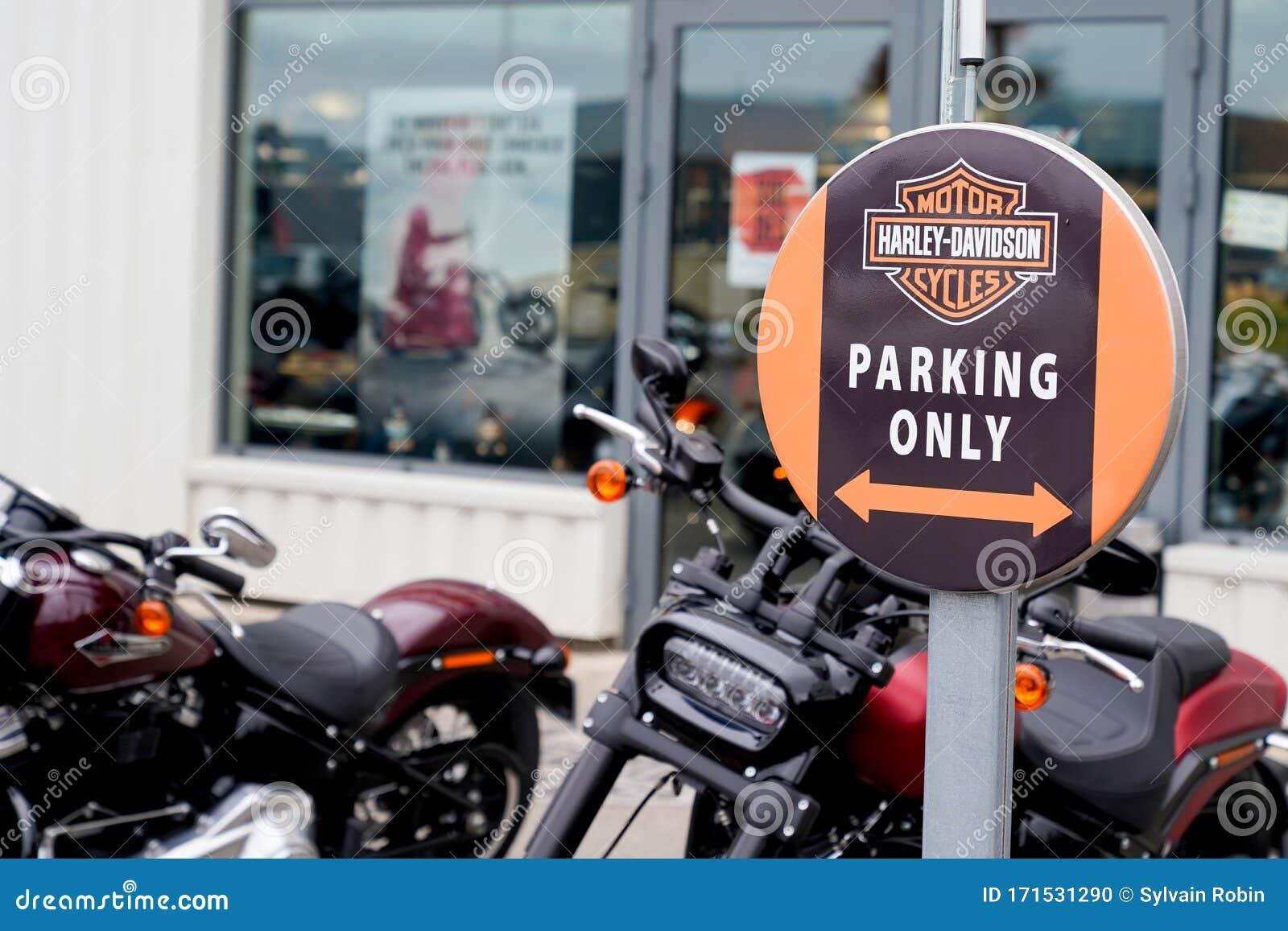 Retailer Facade Motorcycle Store