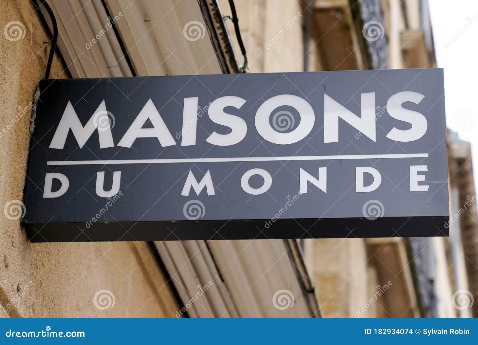 Bordeaux , Aquitaine / France - 10 10 10 : Maisons Du Monde Logo