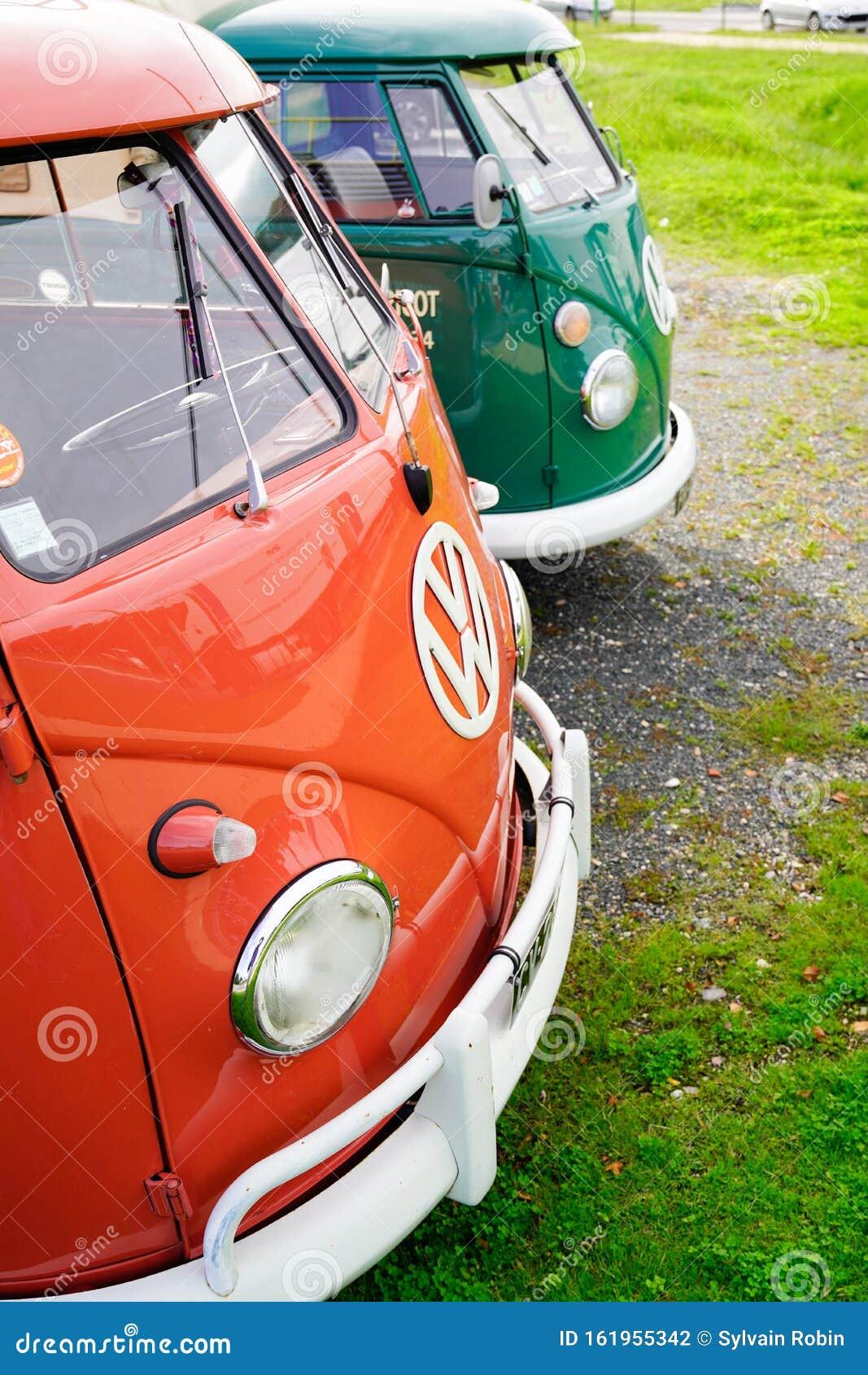 Bordeaux , Aquitaine / France - 10 23 2019 : Minibus ...