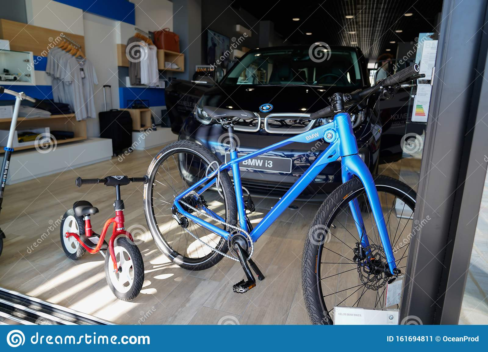 Bordeaux Aquitaine France 10 17 2019 Shopping Mall Bmw Store Clothing Bike Accessories Retail Shop Fashion Editorial Photo Image Of Display Business 161694811