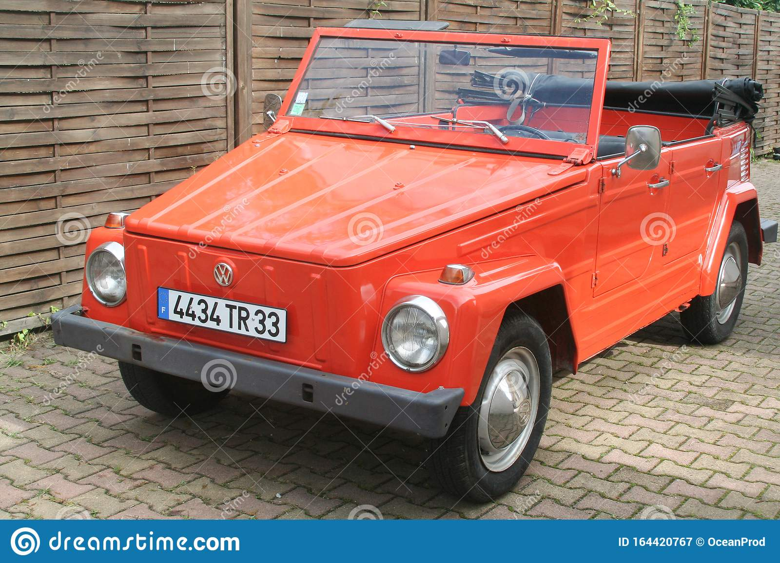 Bordeaux Aquitaine France 11 18 2019 Volkswagen Type 181 Orange Car Vintage Thing Safari Editorial Photography Image Of Beach Style 164420767