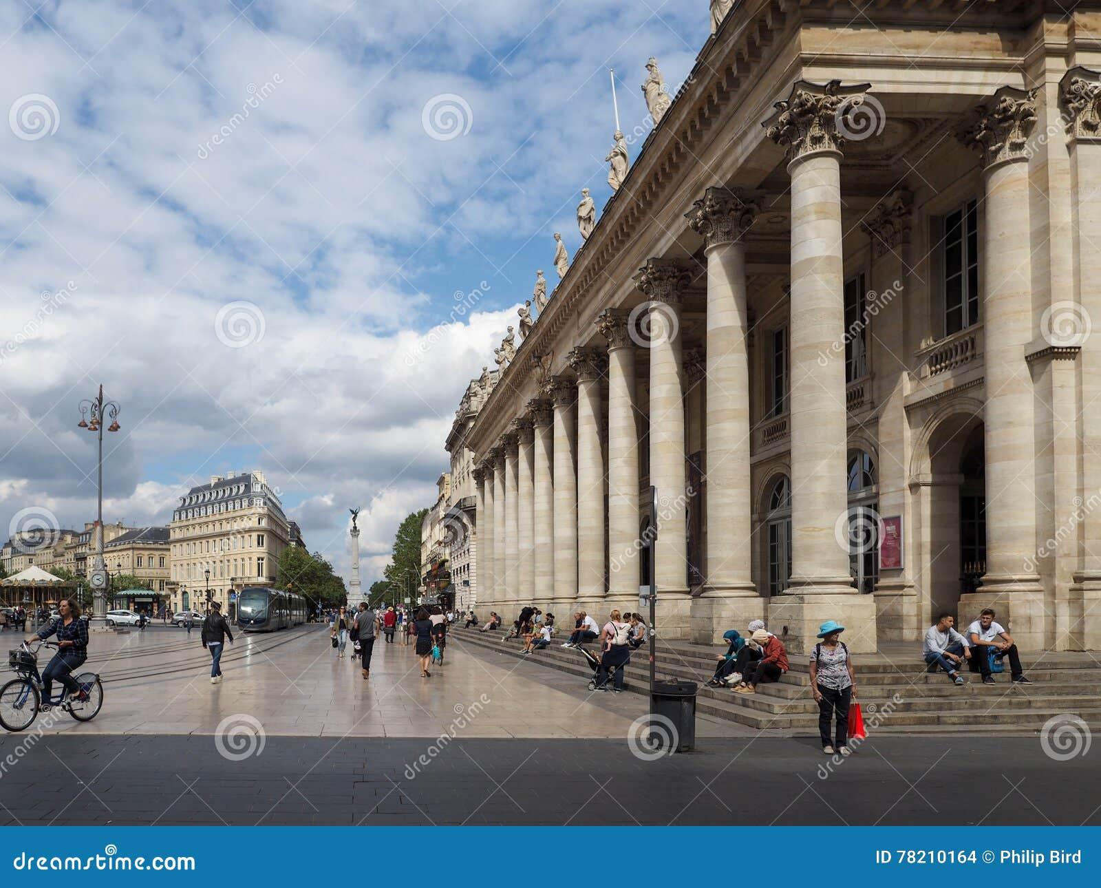 BORDEAUX, GIRONDE/FRANCE - SEPTEMBER 19 : Facade Of The ...