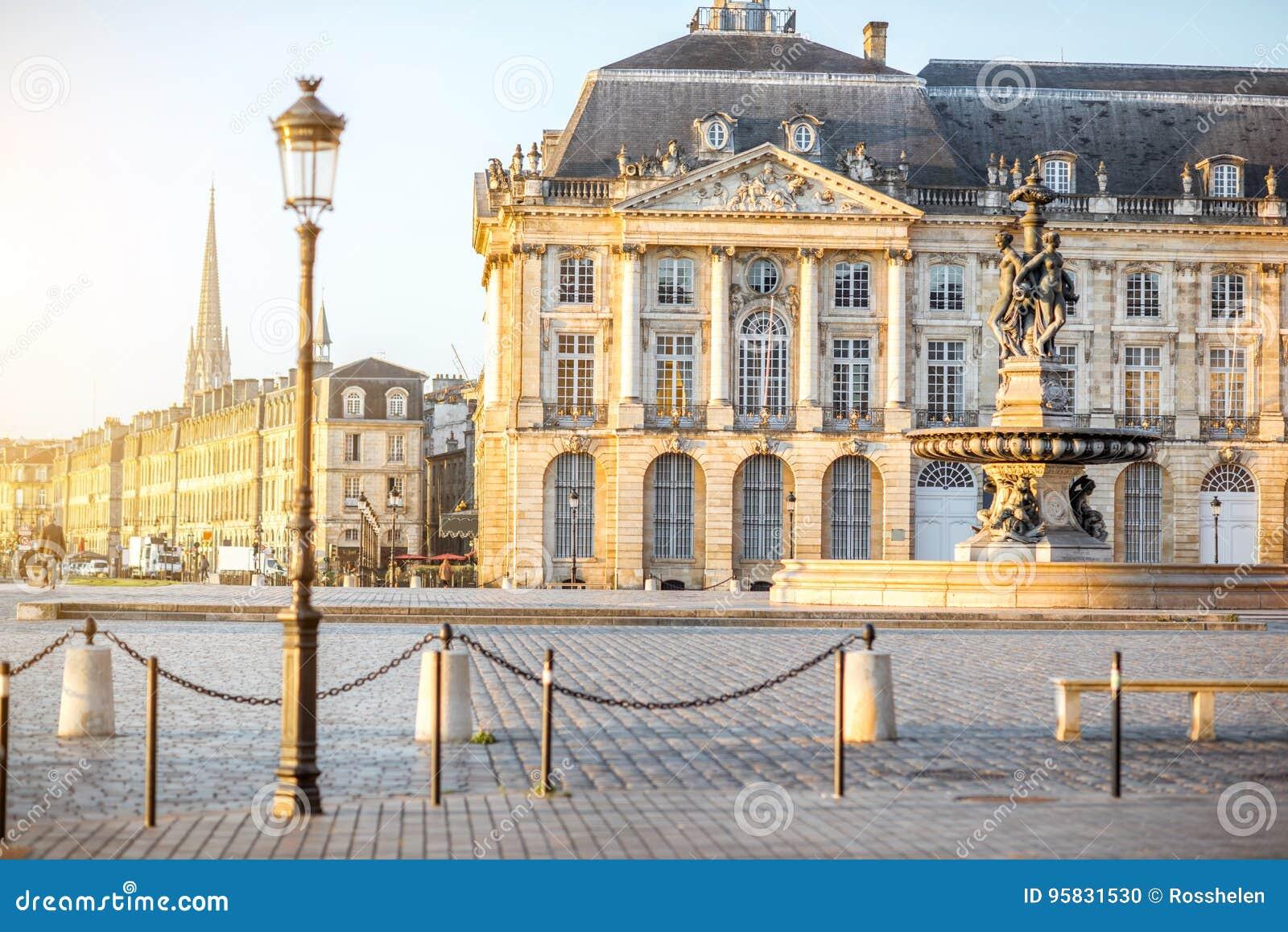 Bordeauxstadt in Frankreich