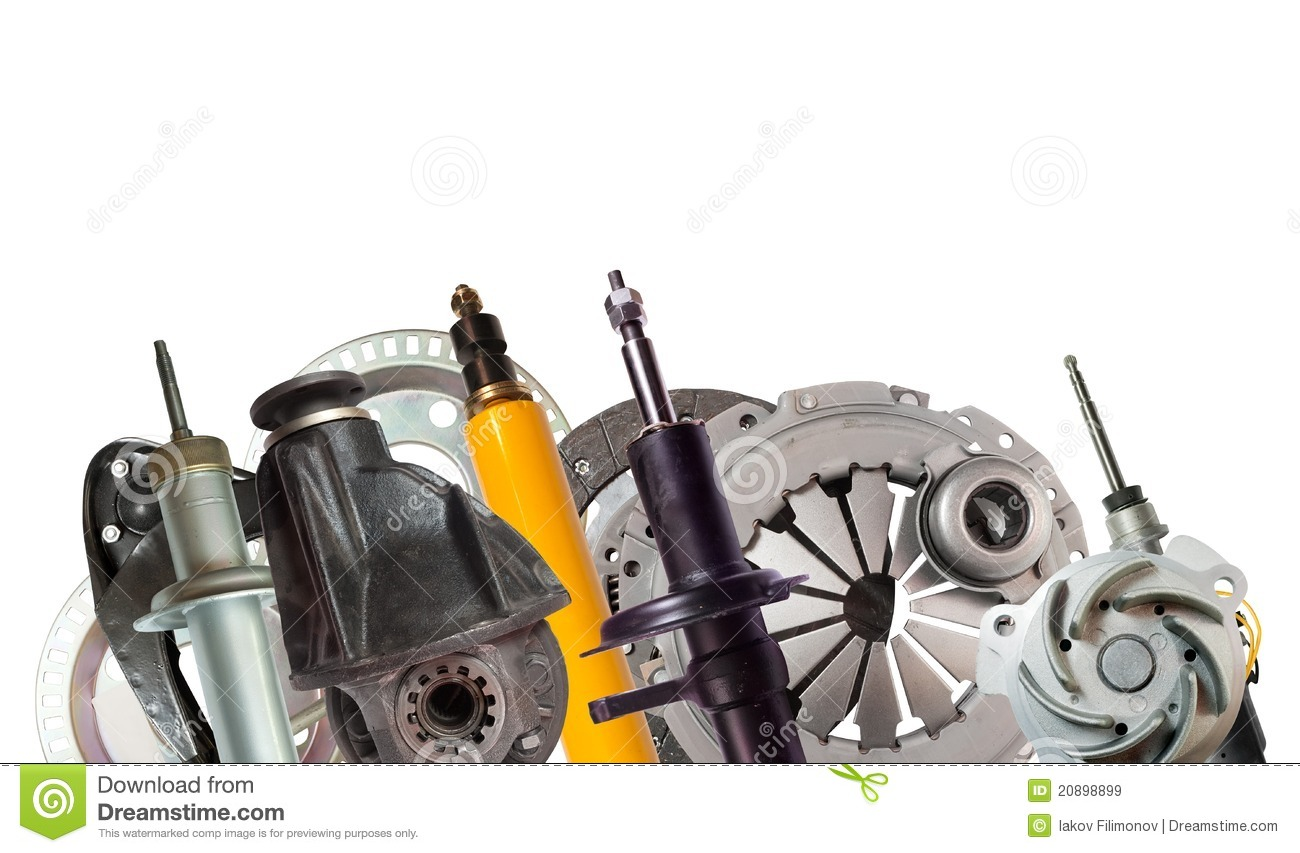 Border Of Car Parts Royalty Free Stock Images - Image ...