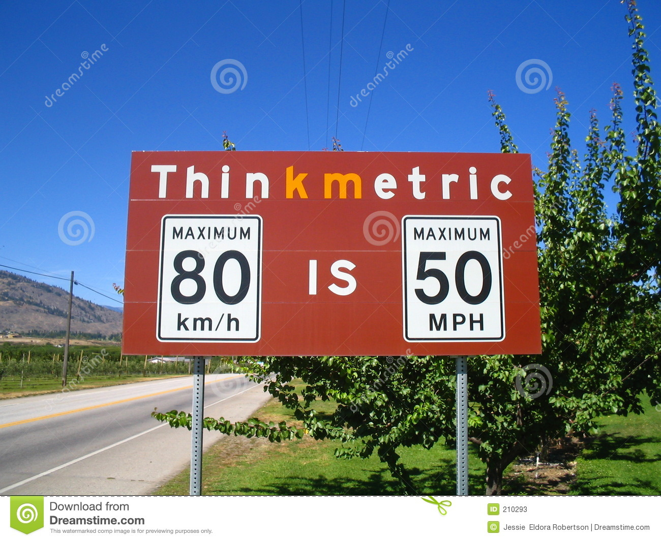 Border Crossing Sign Stock Photos - Image: 210293
