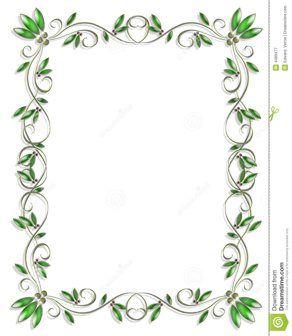 Border design element green 3 stock illustration illustration of border design element green 3 stopboris Images