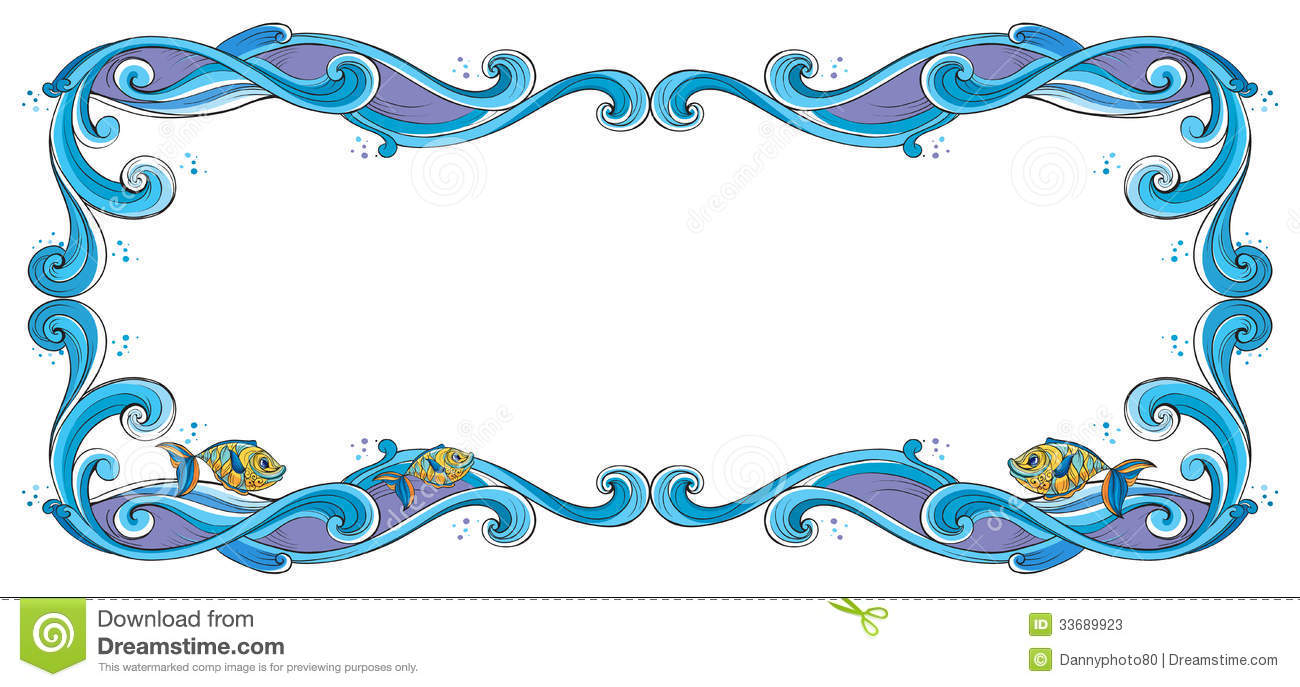 border fish stock illustrations 2 518 border fish stock rh dreamstime com Fish Fry Clip Art Border free clipart fish border