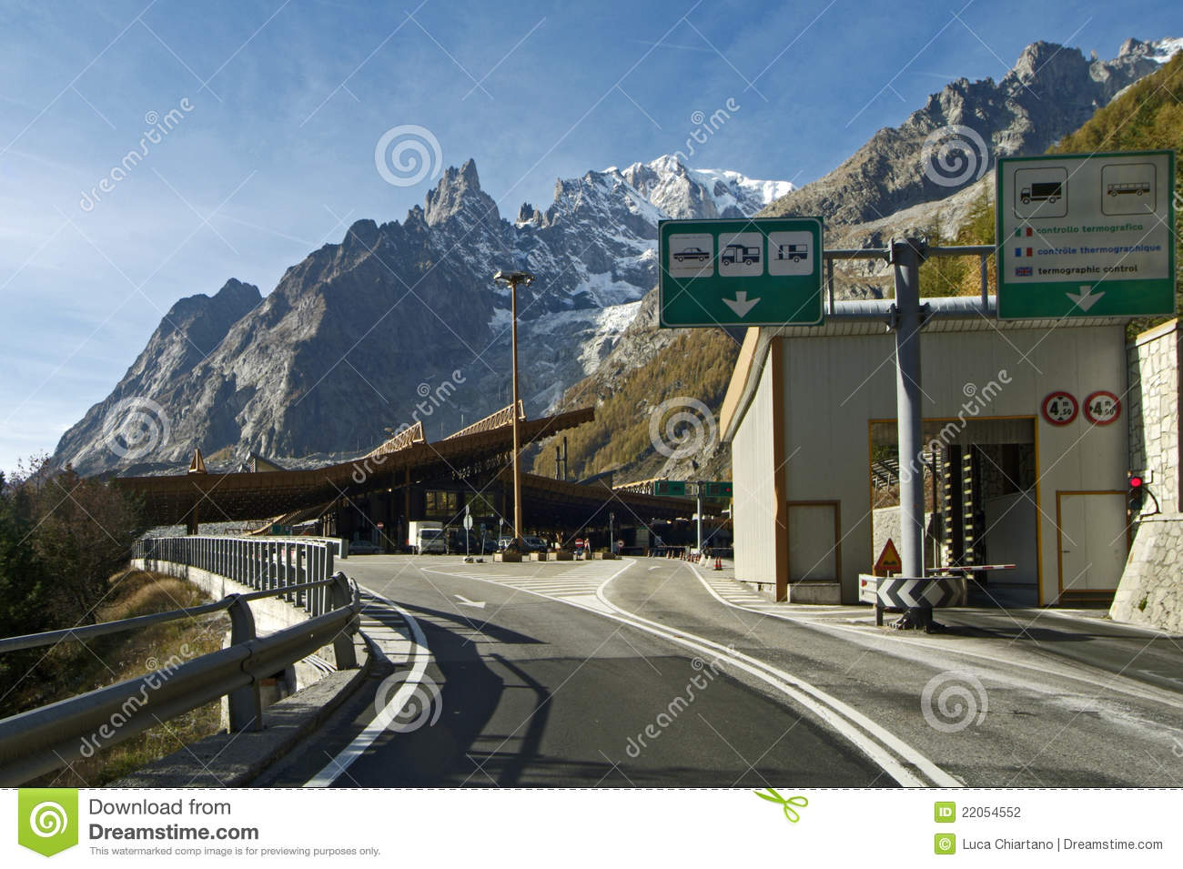 border italy france tunnel mont blanc stock photography image 22054552. Black Bedroom Furniture Sets. Home Design Ideas