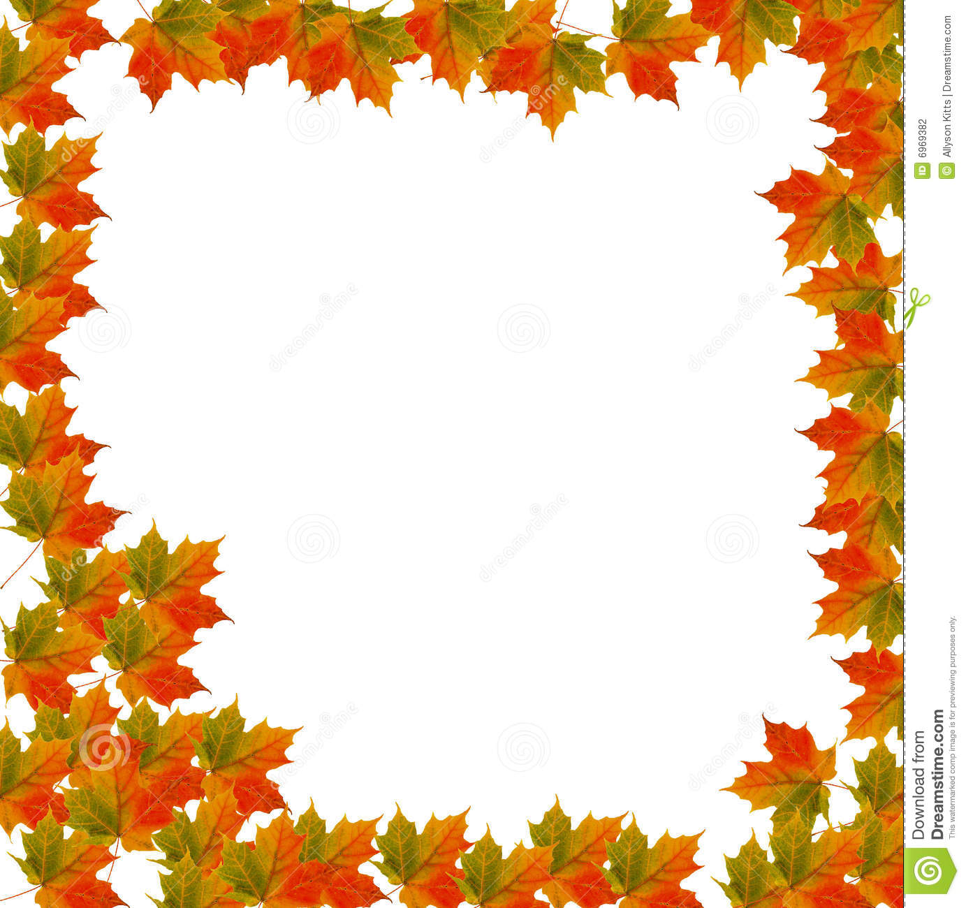 An autumn maple leaf bordered background I created.