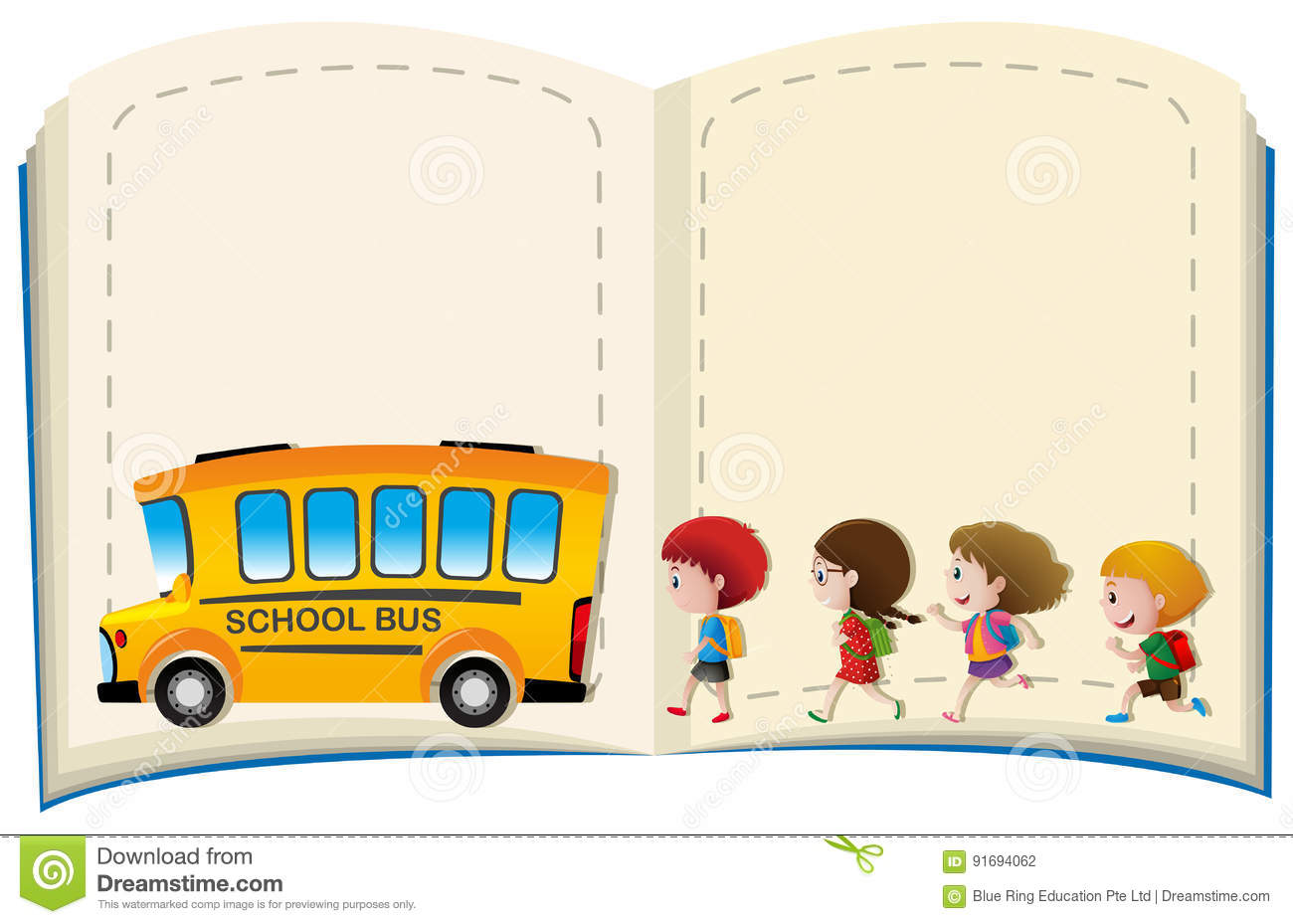 Schoolbus Cartoons, Illustrations & Vector Stock Images