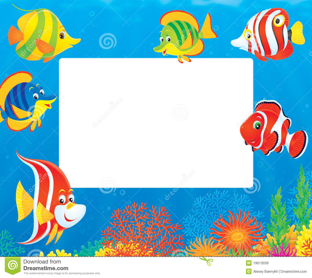 ... tropical fishes swimming above a colorful coral reef in a tropical sea